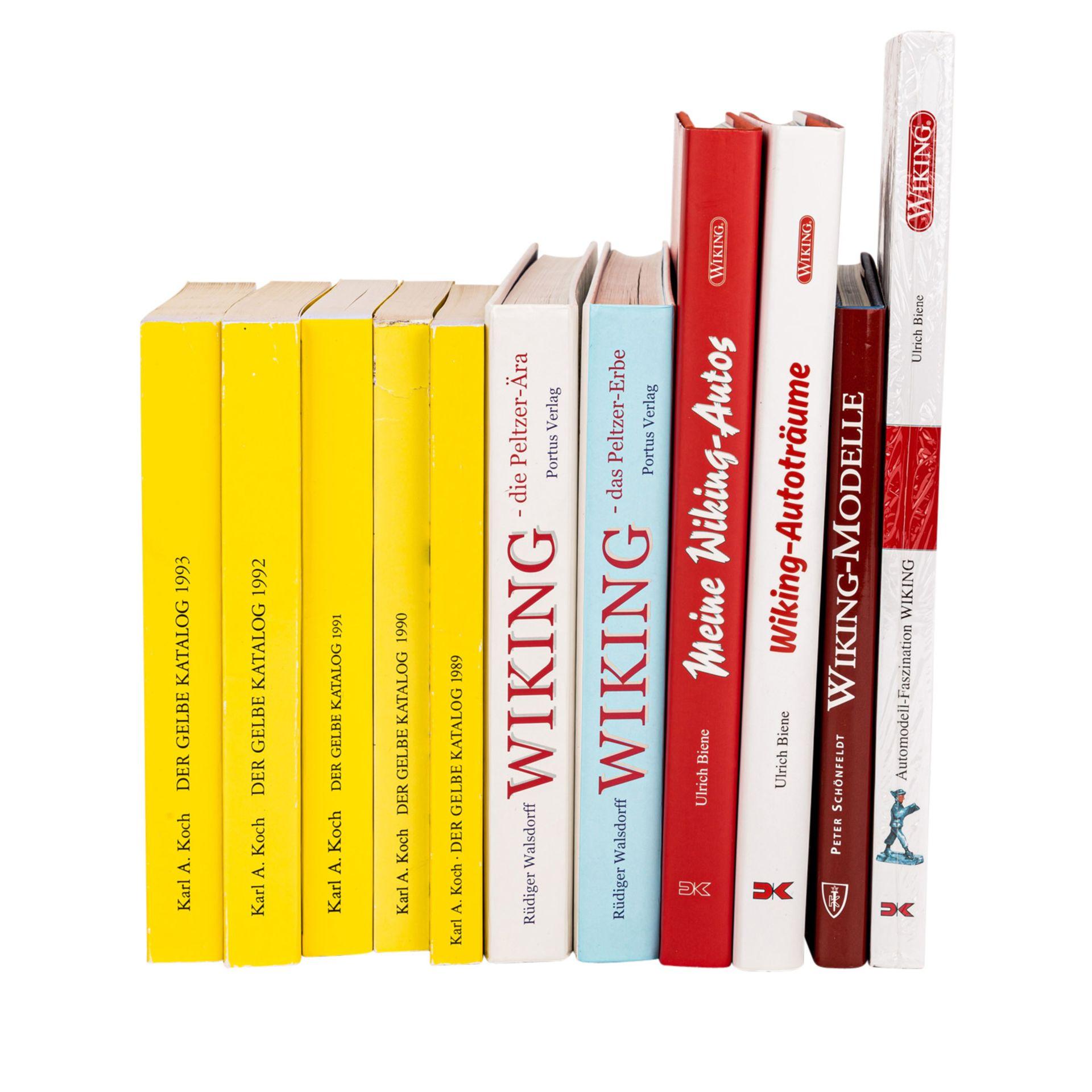 WIKING 11-tlg Bücherkonvolut,bestehend aus 6 hochwertig gebundenen Ausgaben, darunter - Image 2 of 2