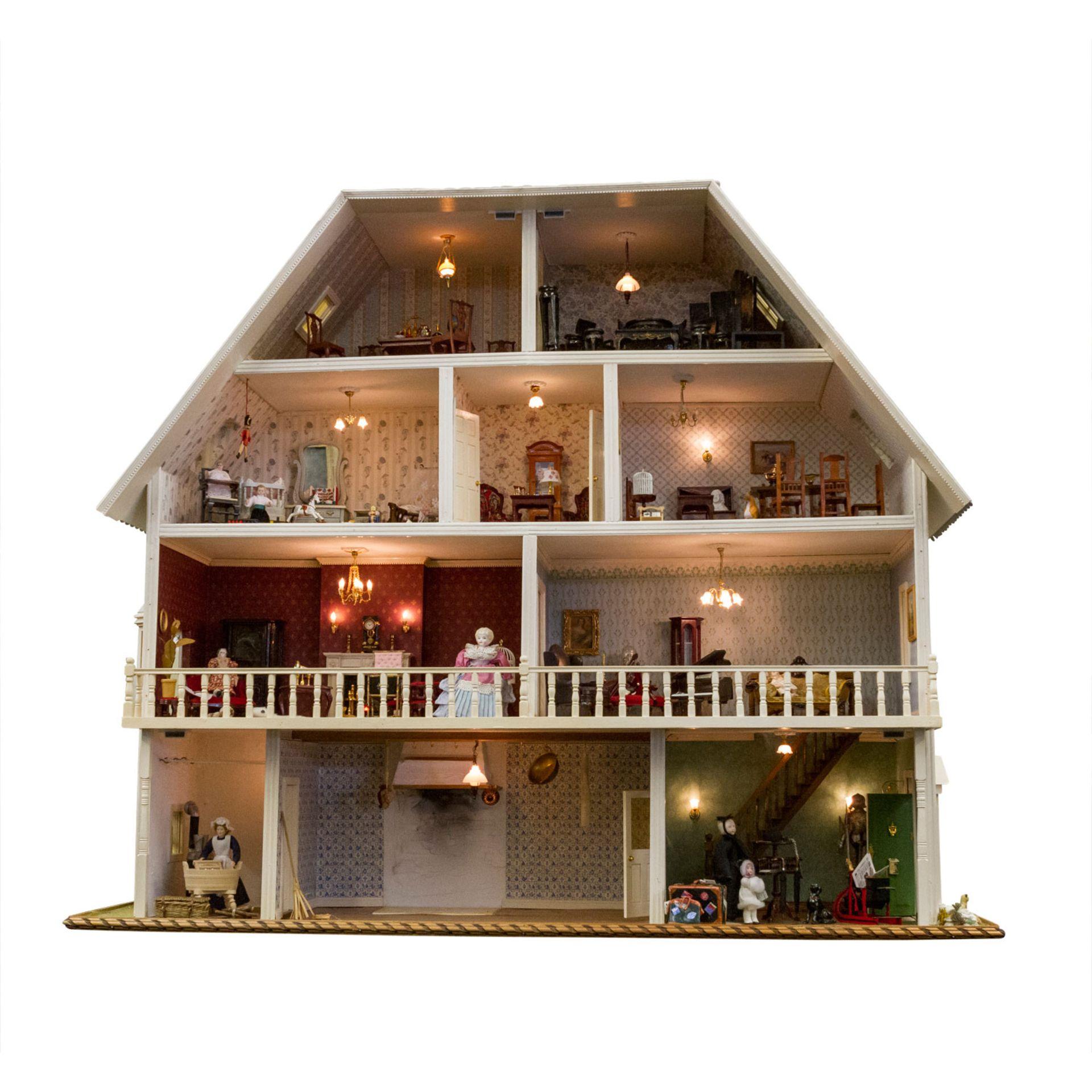 Großes Puppenhaus, 20 Jh.