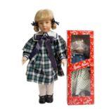 KÄTHE KRUSE zwei Puppen, 1990er-2000,