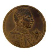 Dt. Kaiserreich - Bronzemedaille 1914, Kaiser Wilhelm II., Deutscher Reichsausschuss für Olympische