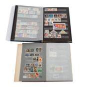 Russland Sammlung ex 1940/81 in zwei authentisch russischen Alben,meist mit Marken in