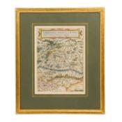 "Kupferstichkarte von Kärnten u. Görz - ""Carinthiae ducatus et goritiae palatinatus,"