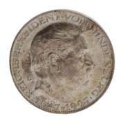 Weimarer Republik - Silbermedaille 1927/D,