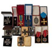 Dt. Kaiserreich/Preussen - Konvolut Orden und Auszeichnungen,