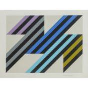 STANKOWSKI, ANTON (Gelsenkirchen 1906-1998 Esslingen) 'Geometrische Komposition'.Serig