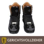 DSQUARED Paar Schuhe Gr. 43, NP: ca. 400 €, Leder und Wildleder, hoher Schuh, ungetr