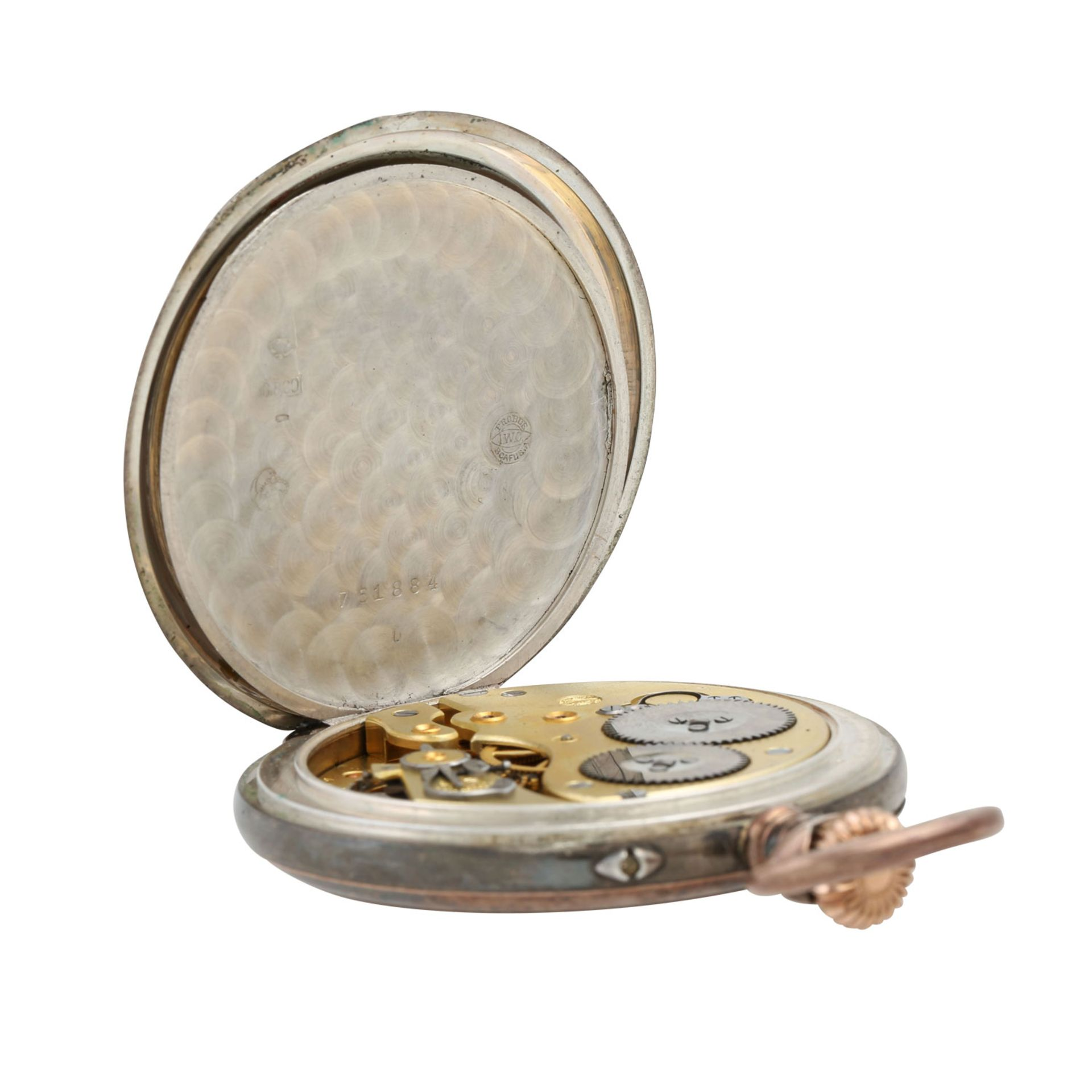 IWC Lepine Taschenuhr. - Bild 5 aus 7