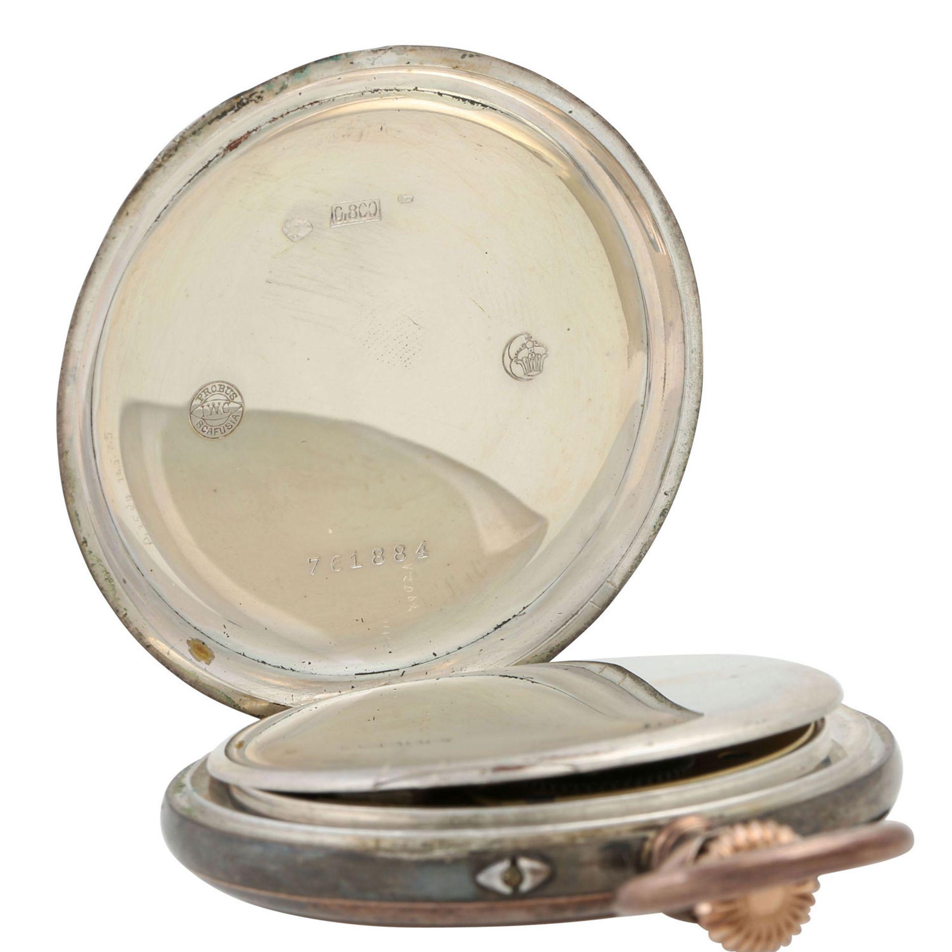 IWC Lepine Taschenuhr. - Bild 6 aus 7