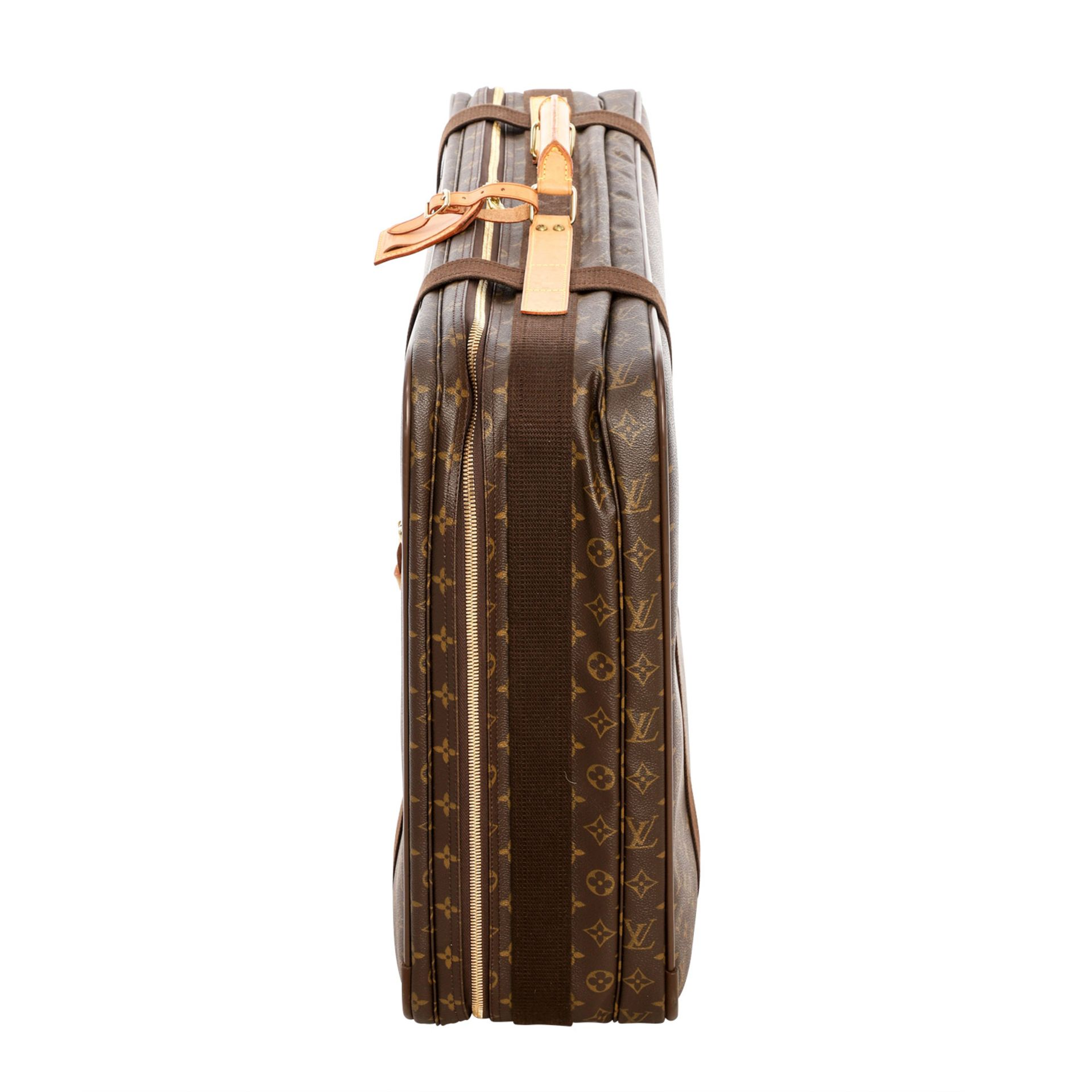 "LOUIS VUITTON Reisetasche ""SIRIUS 70"", Koll. 2000.Akt. NP.: 1.790,-€. Monogram Canva - Image 3 of 6"