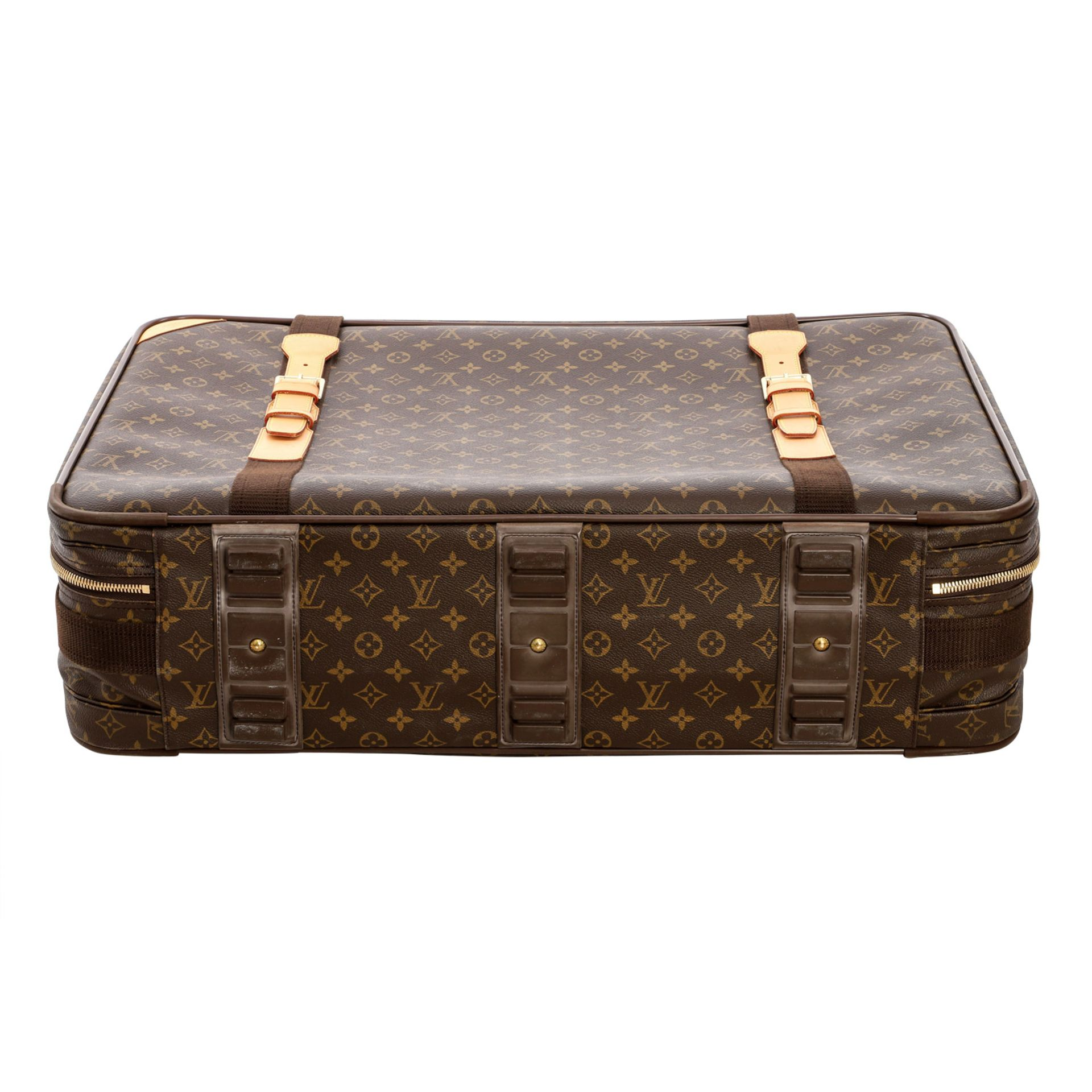 "LOUIS VUITTON Reisetasche ""SIRIUS 70"", Koll. 2000.Akt. NP.: 1.790,-€. Monogram Canva - Image 5 of 6"