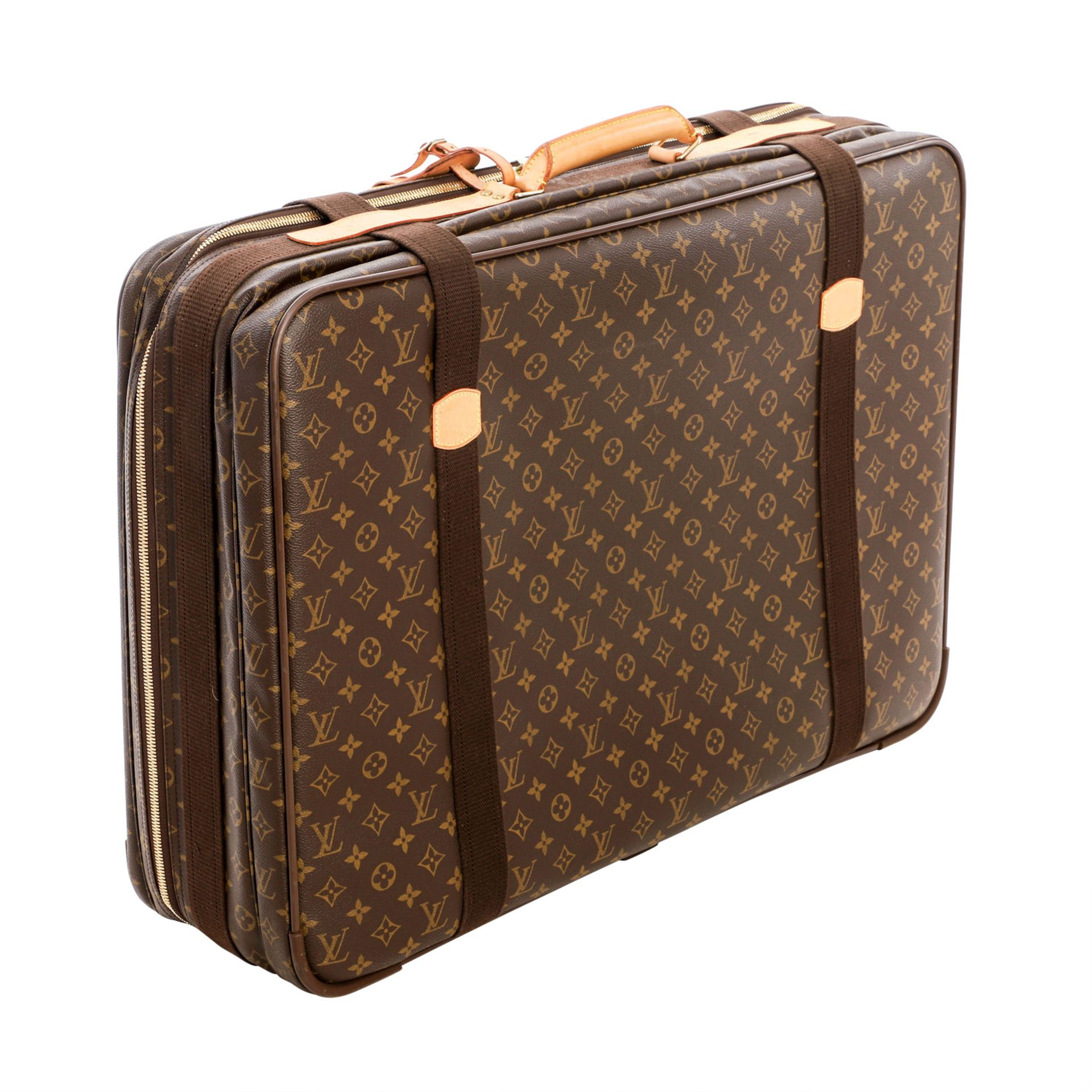 "LOUIS VUITTON Reisetasche ""SIRIUS 70"", Koll. 2000.Akt. NP.: 1.790,-€. Monogram Canva - Image 2 of 6"