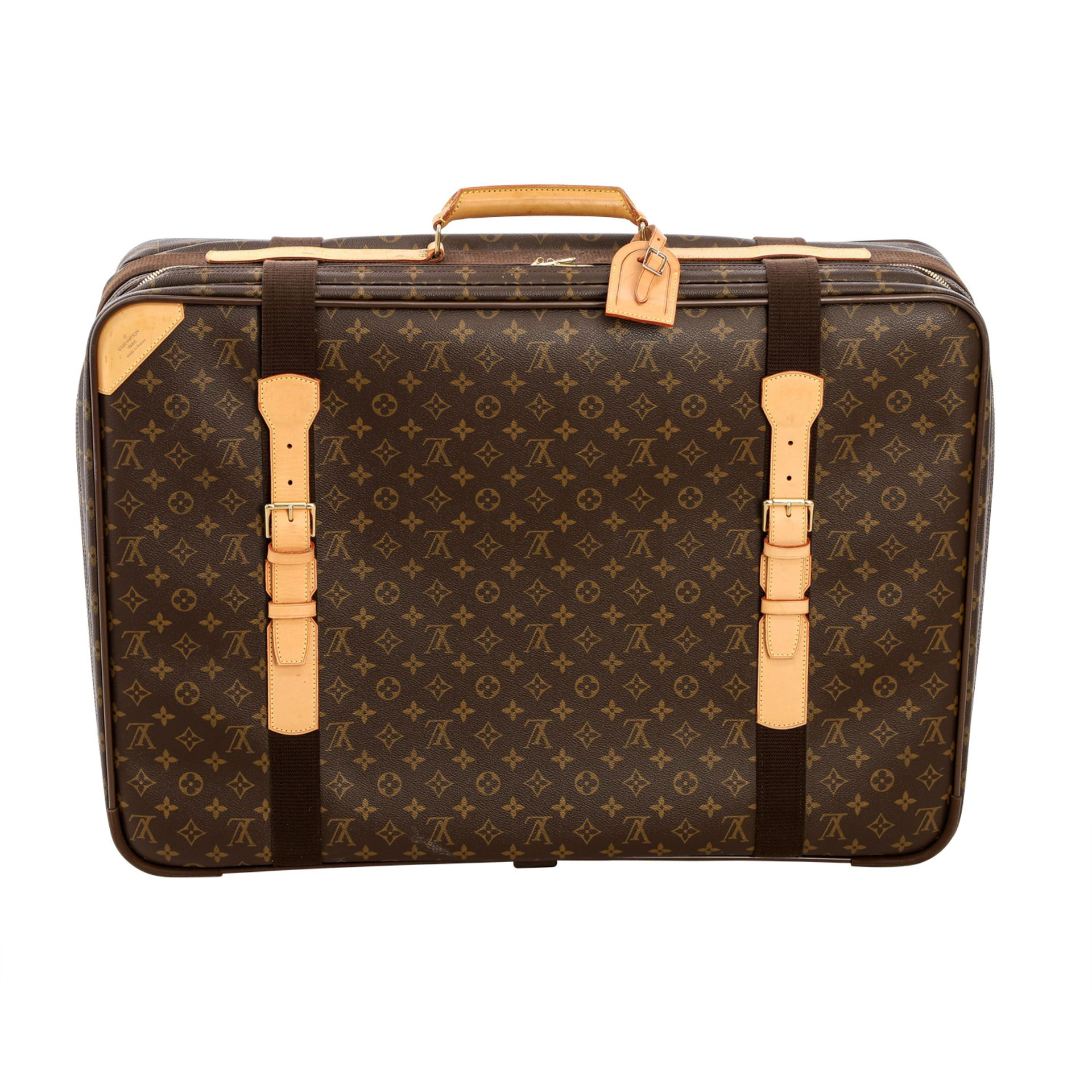 "LOUIS VUITTON Reisetasche ""SIRIUS 70"", Koll. 2000.Akt. NP.: 1.790,-€. Monogram Canva - Image 4 of 6"