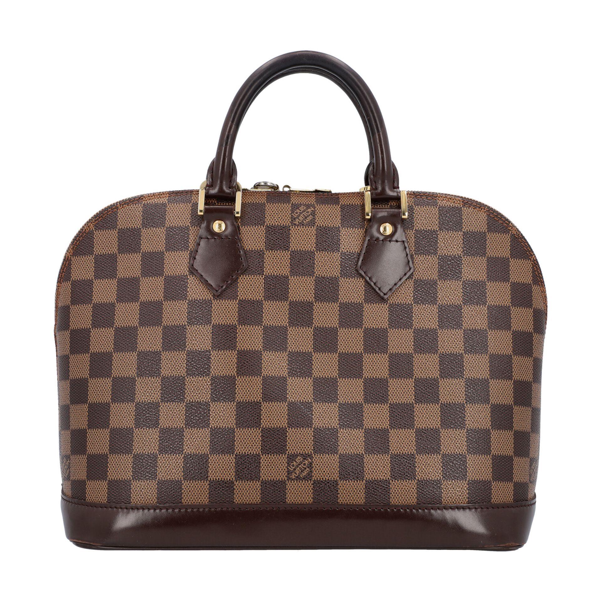 "LOUIS VUITTON Handtasche ""ALMA PM"", Koll. 2004. Akt. NP.: 1.250,-€. Damier Ebene Can"