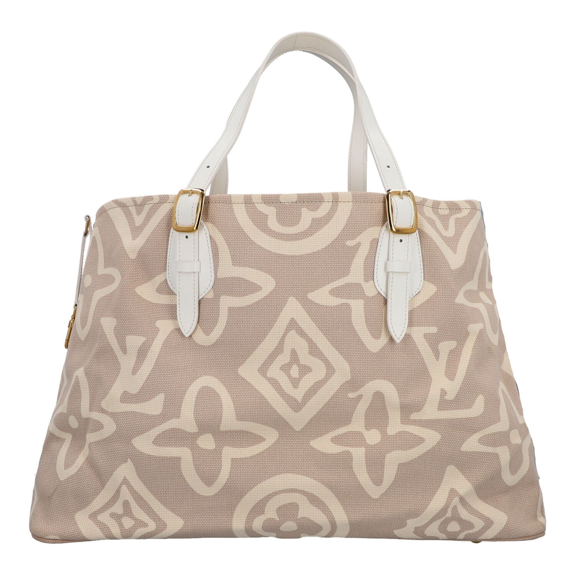 "LOUIS VUITTON Shopper ""TAHITIENNE GM"", Koll.: 2008 Designed by Marc Jacobs, inspiriert - Image 4 of 9"