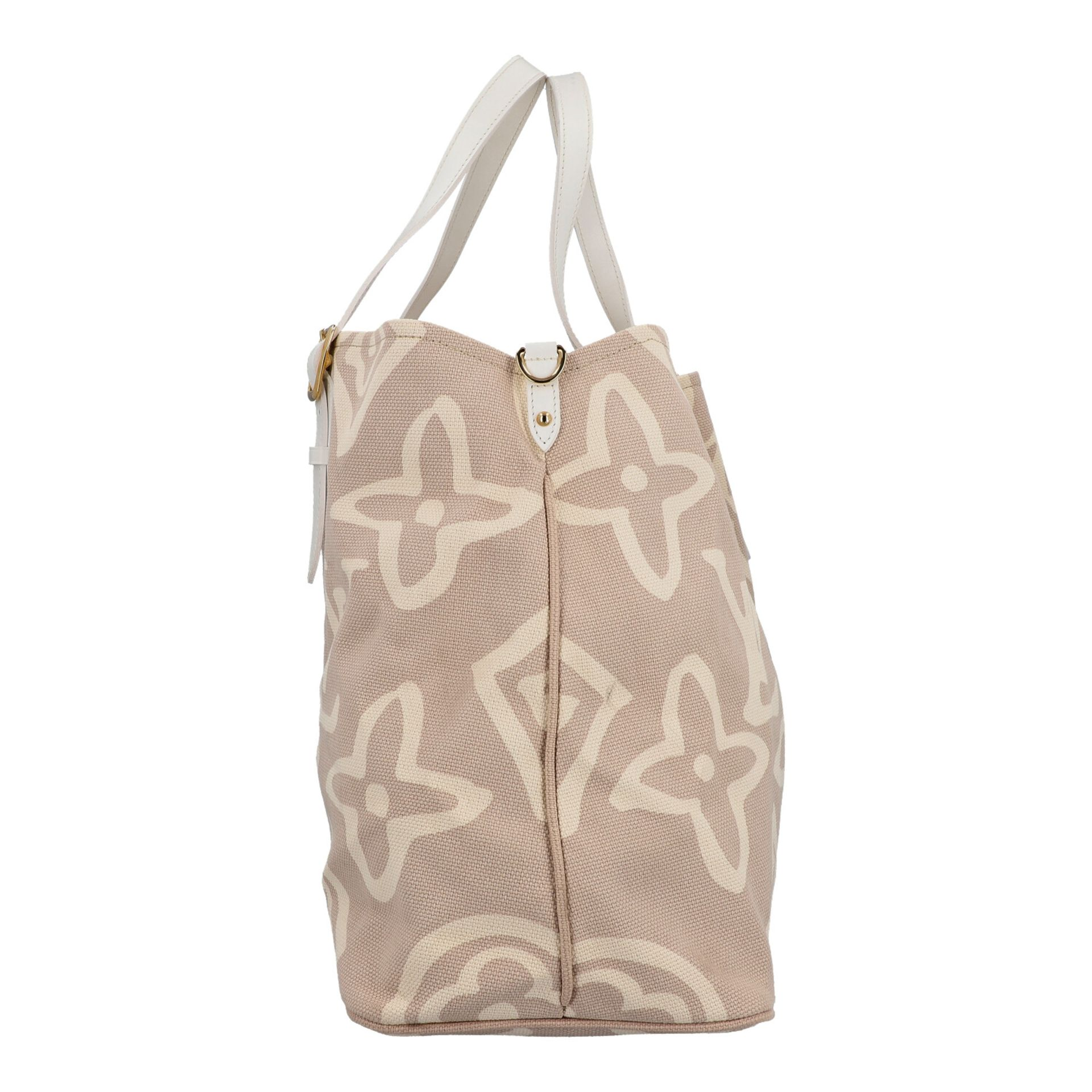 "LOUIS VUITTON Shopper ""TAHITIENNE GM"", Koll.: 2008 Designed by Marc Jacobs, inspiriert - Image 3 of 9"