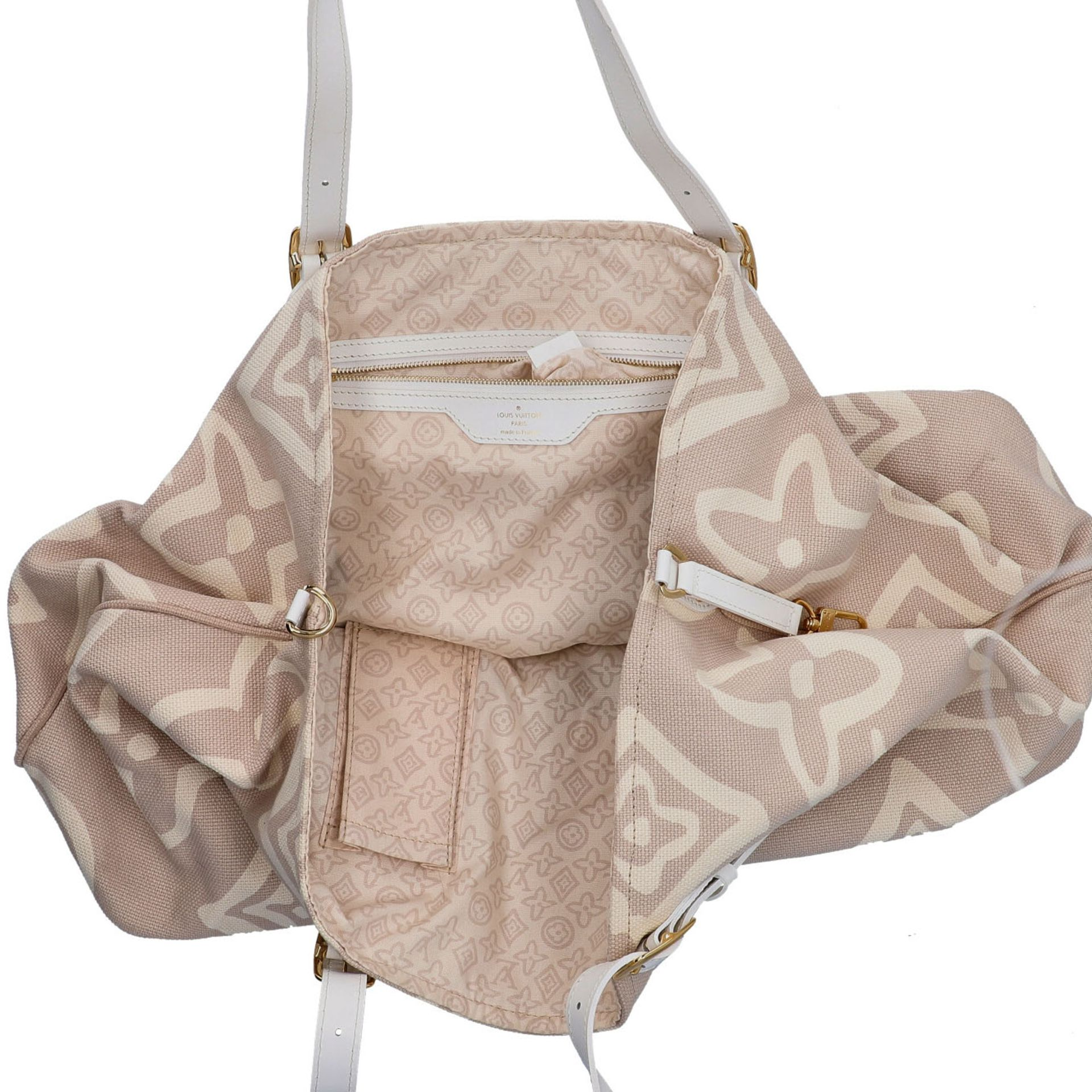 "LOUIS VUITTON Shopper ""TAHITIENNE GM"", Koll.: 2008 Designed by Marc Jacobs, inspiriert - Image 6 of 9"