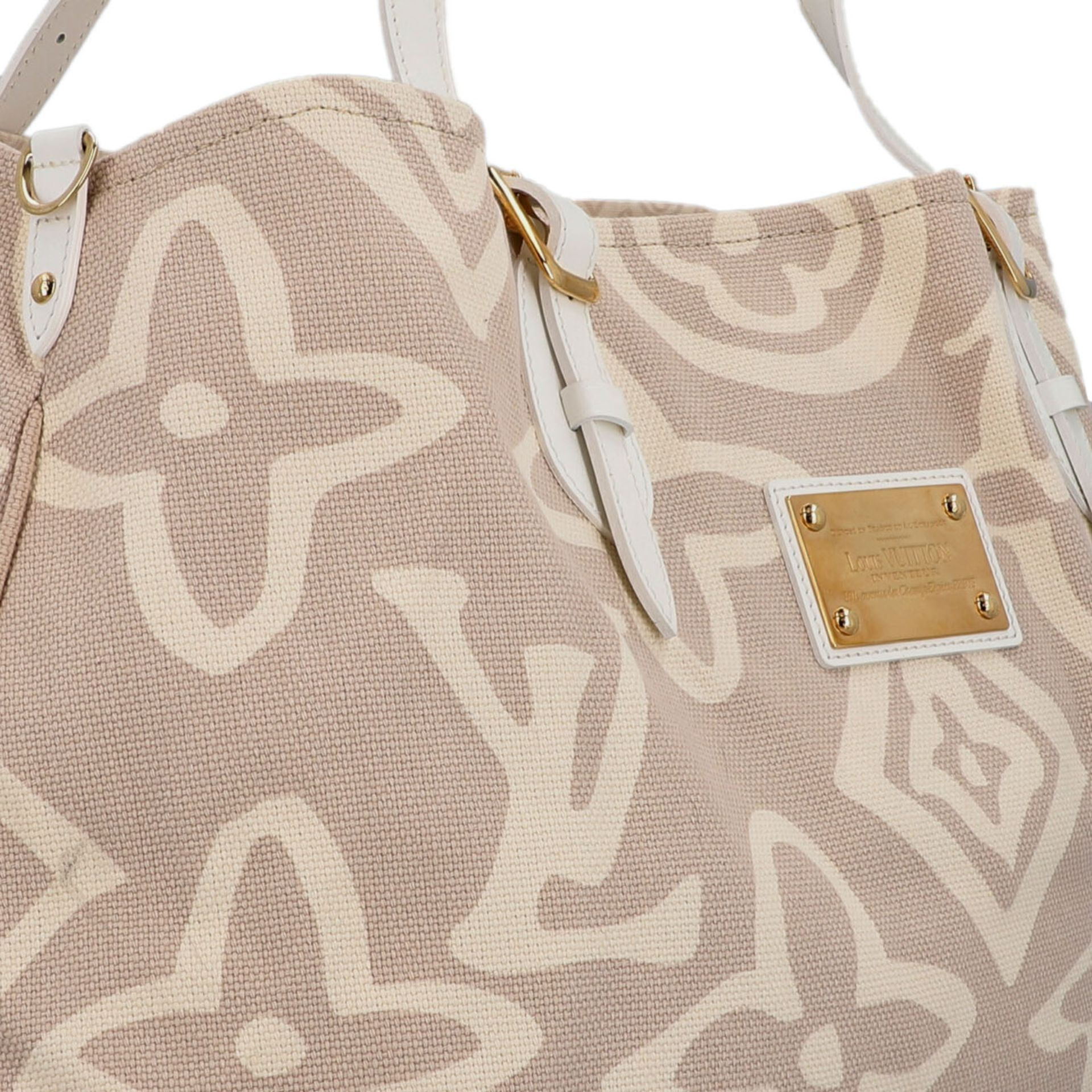 "LOUIS VUITTON Shopper ""TAHITIENNE GM"", Koll.: 2008 Designed by Marc Jacobs, inspiriert - Image 8 of 9"