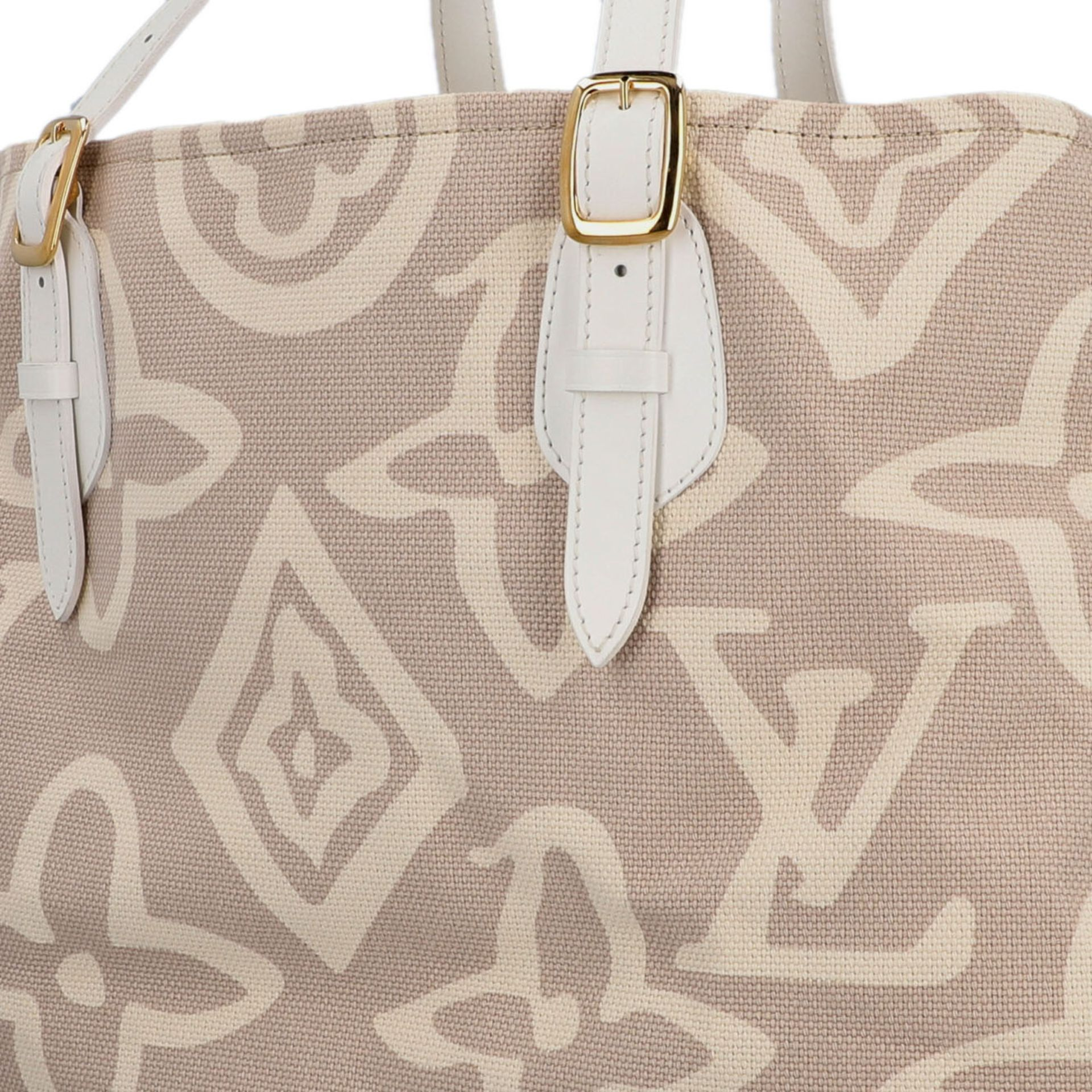 "LOUIS VUITTON Shopper ""TAHITIENNE GM"", Koll.: 2008 Designed by Marc Jacobs, inspiriert - Image 7 of 9"