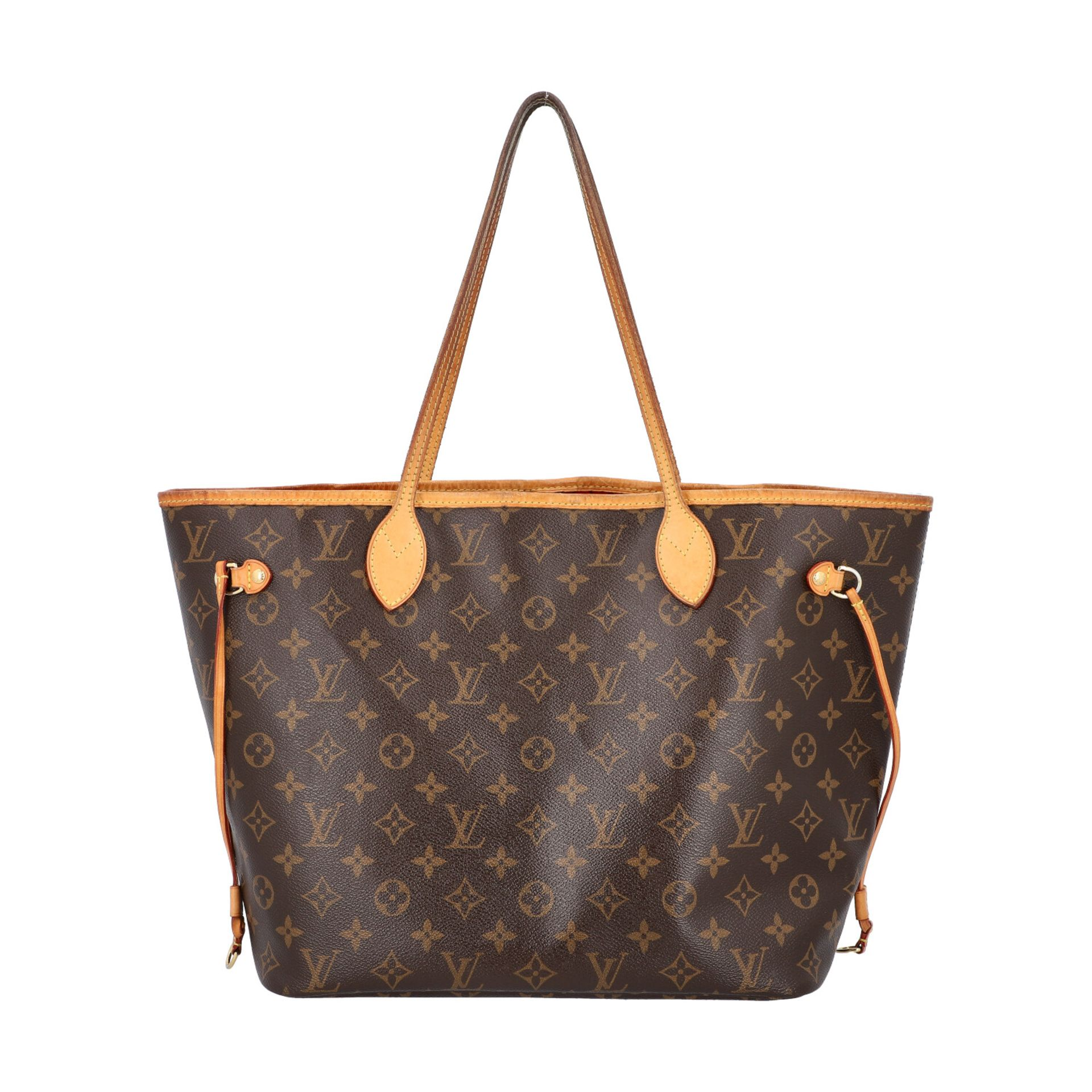 "LOUIS VUITTON Shoppertasche ""NEVERFULL MM"", Koll. 2014. Akt. NP.: 1150,-€. Monogram - Image 4 of 8"