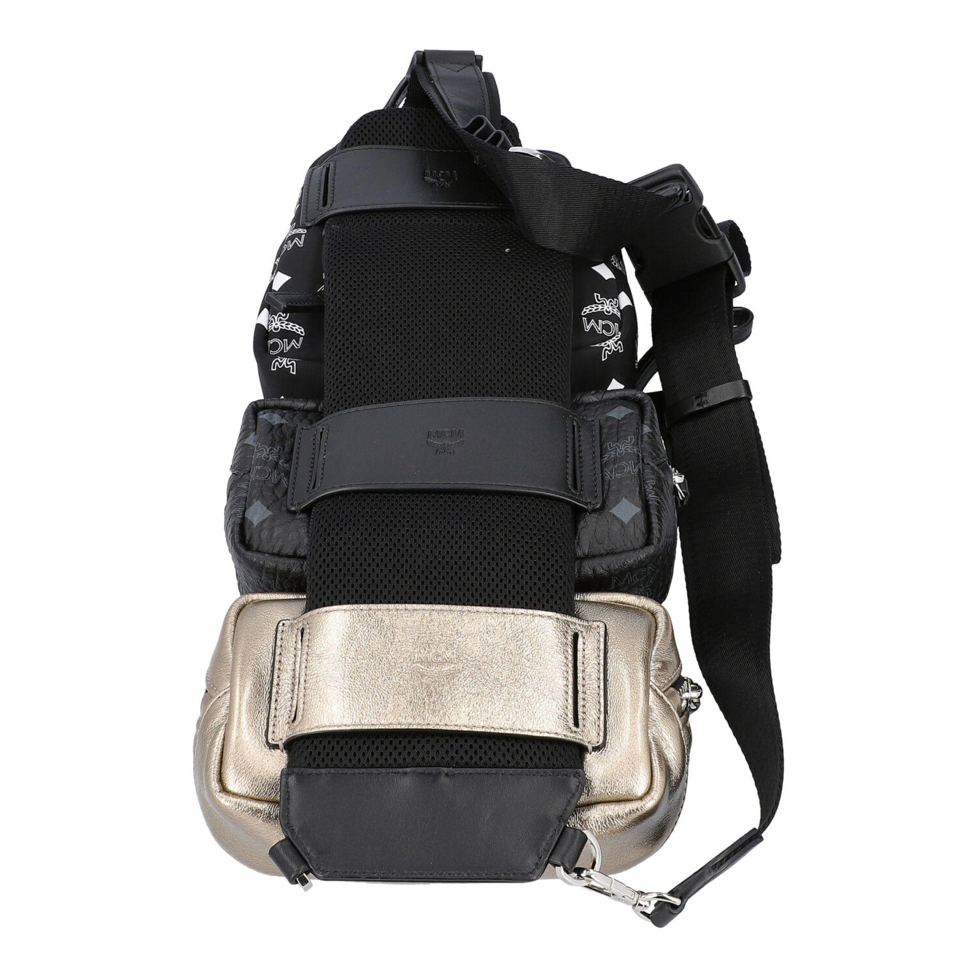 MCM Multi-Bag, akt. NP.: 995,-€. Dreifache Tasche bestehend aus drei einzelnen Model - Image 4 of 5
