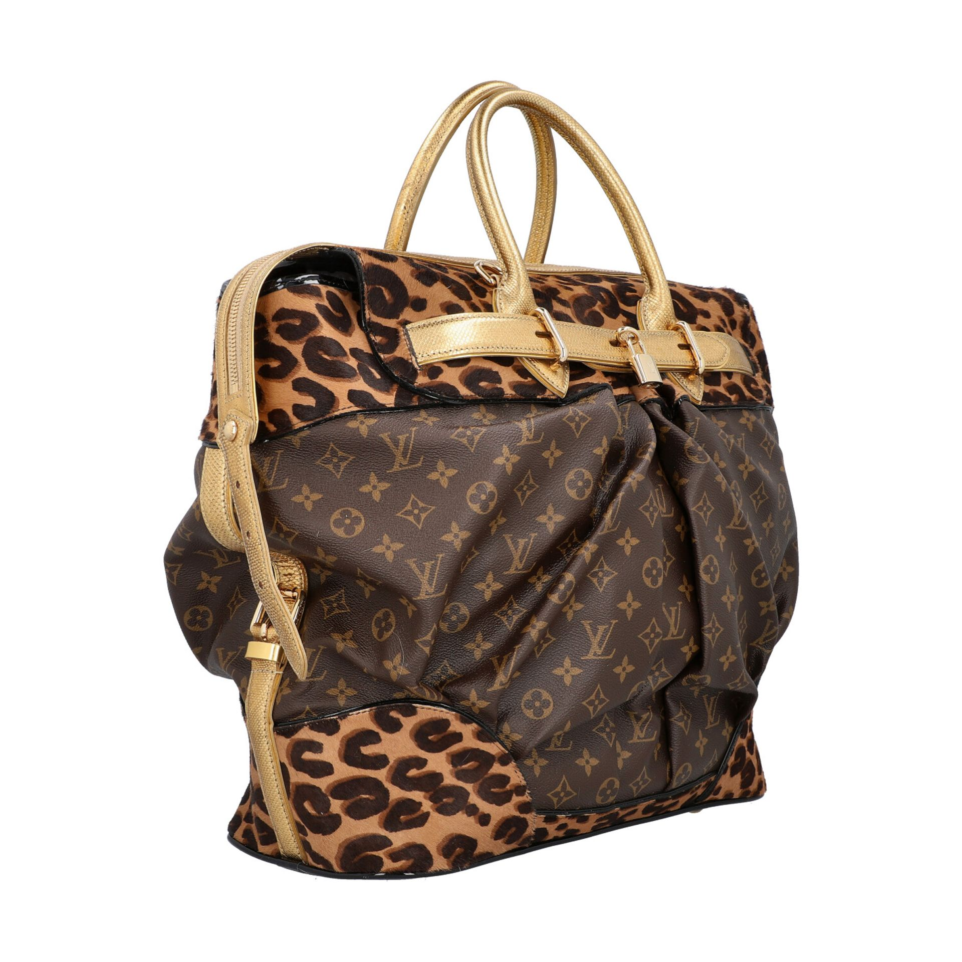 """LOUIS VUITTON Shopper """"STEAMER"""", Koll.: 2006, NP.: ca. 6.000,-€. LIMITED EDITION BY - Image 2 of 10"""