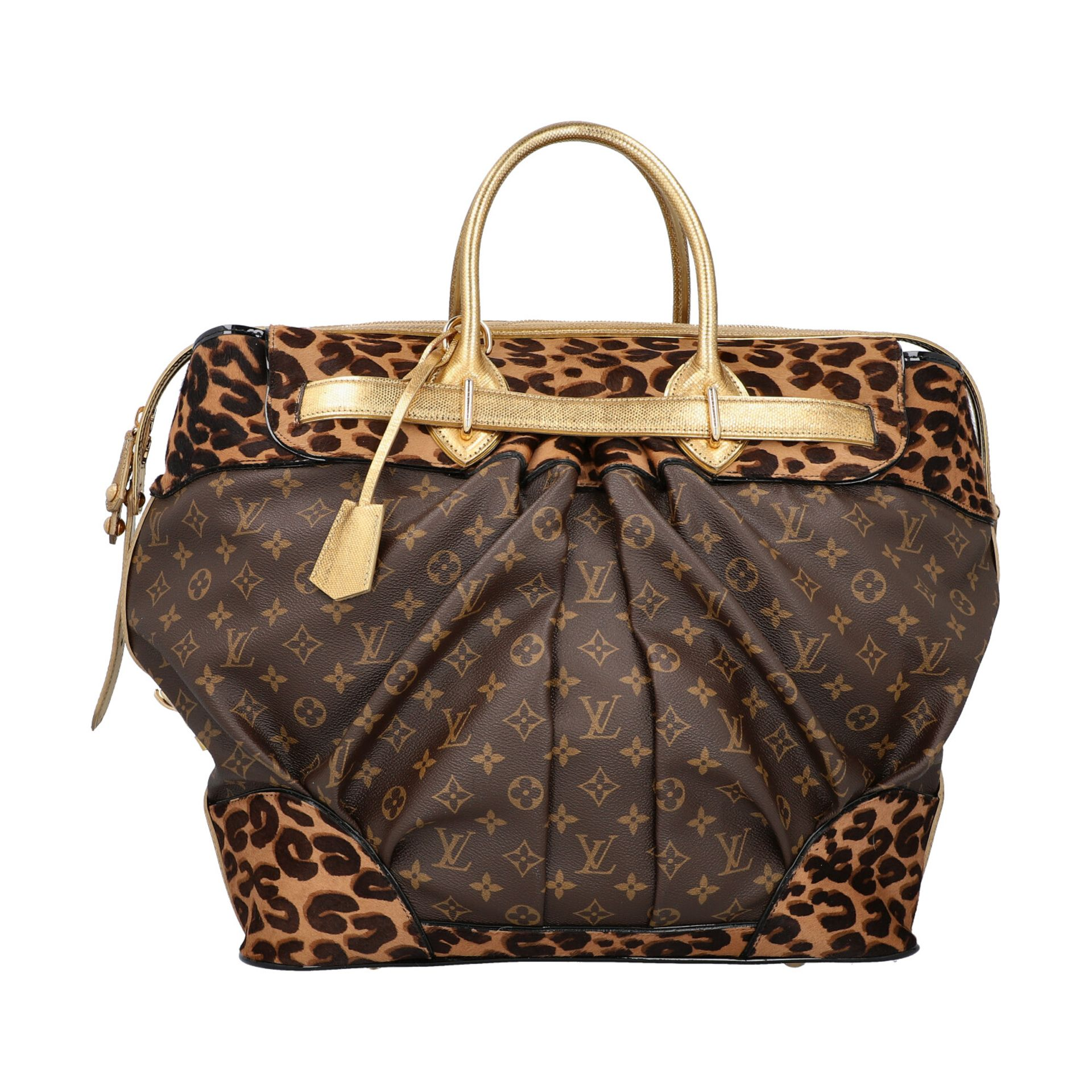 """LOUIS VUITTON Shopper """"STEAMER"""", Koll.: 2006, NP.: ca. 6.000,-€. LIMITED EDITION BY - Image 4 of 10"""