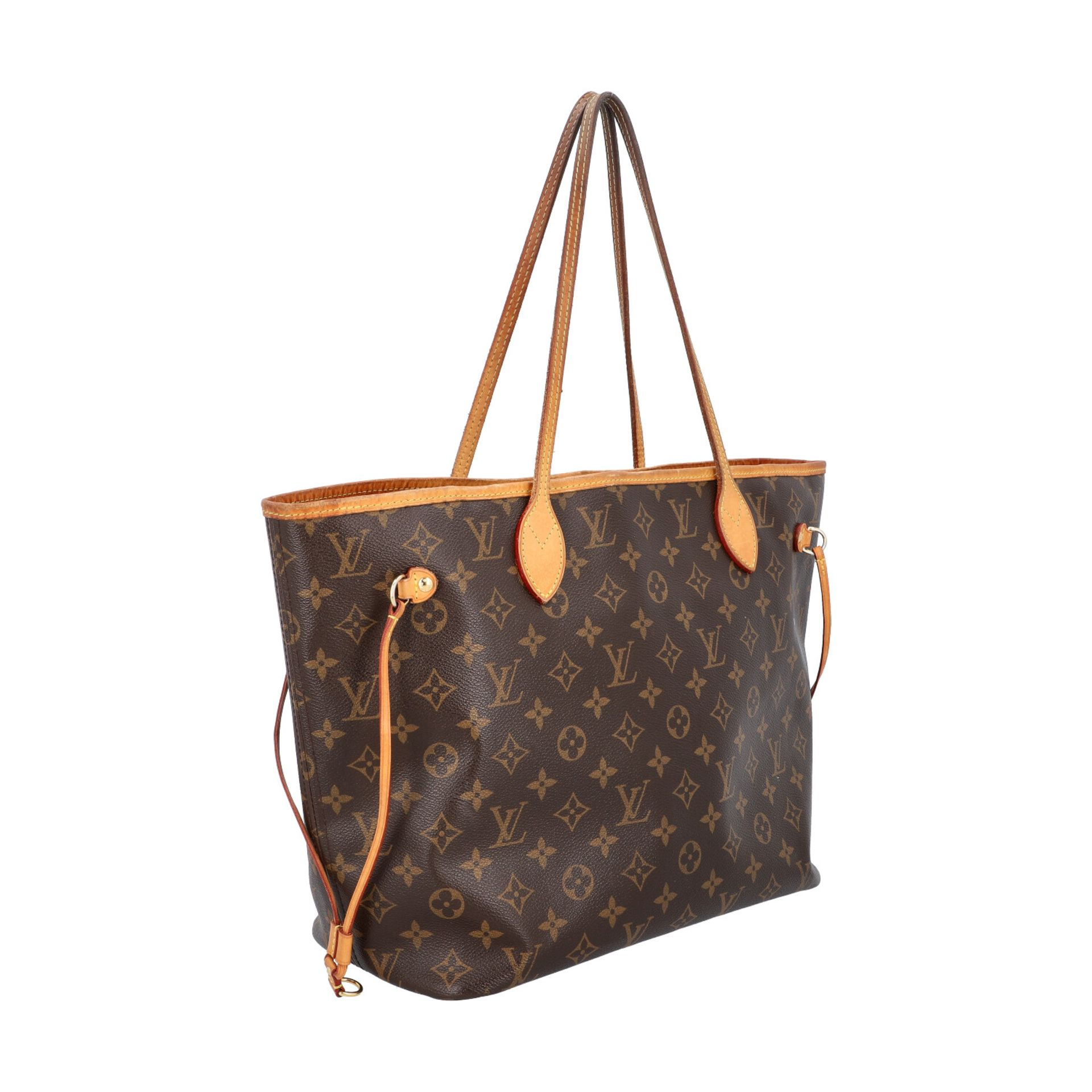"LOUIS VUITTON Shoppertasche ""NEVERFULL MM"", Koll. 2014. Akt. NP.: 1150,-€. Monogram - Image 2 of 8"