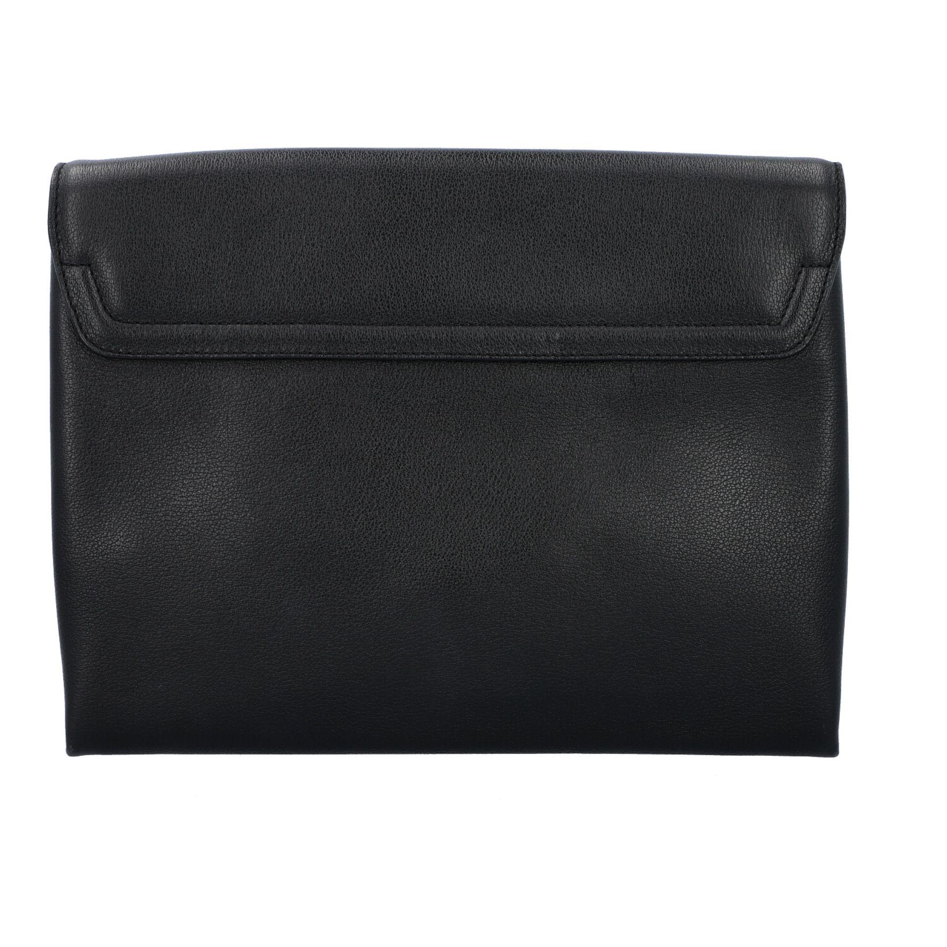 TOM FORD Clutch, NP. ca.: 1.900,-€. Schwarzes Leder mit Reißverschluss Außenfach a - Image 4 of 7