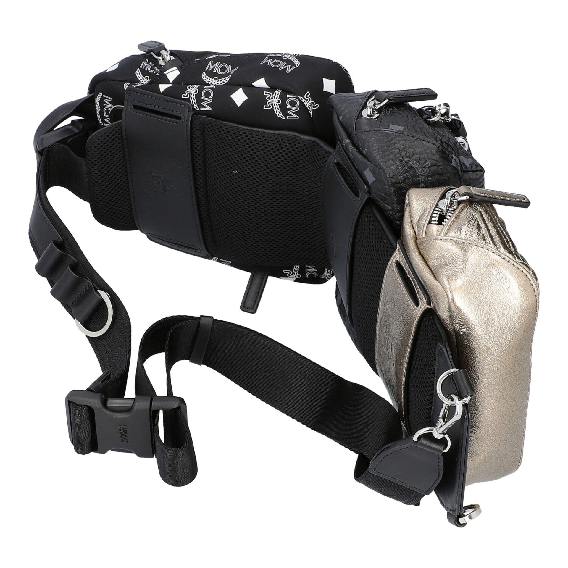 MCM Multi-Bag, akt. NP.: 995,-€. Dreifache Tasche bestehend aus drei einzelnen Model - Image 2 of 5