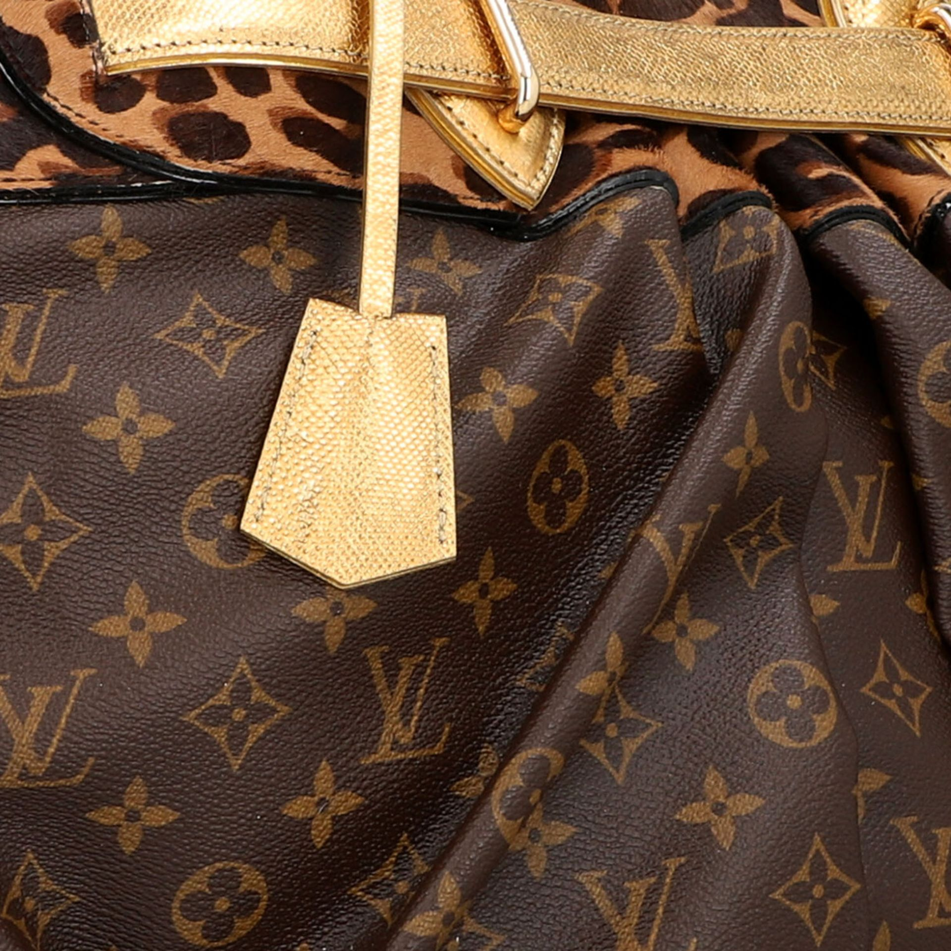 """LOUIS VUITTON Shopper """"STEAMER"""", Koll.: 2006, NP.: ca. 6.000,-€. LIMITED EDITION BY - Image 7 of 10"""