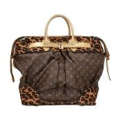 "LOUIS VUITTON Shopper ""STEAMER"", Koll.: 2006, NP.: ca. 6.000,-€. LIMITED EDITION BY"
