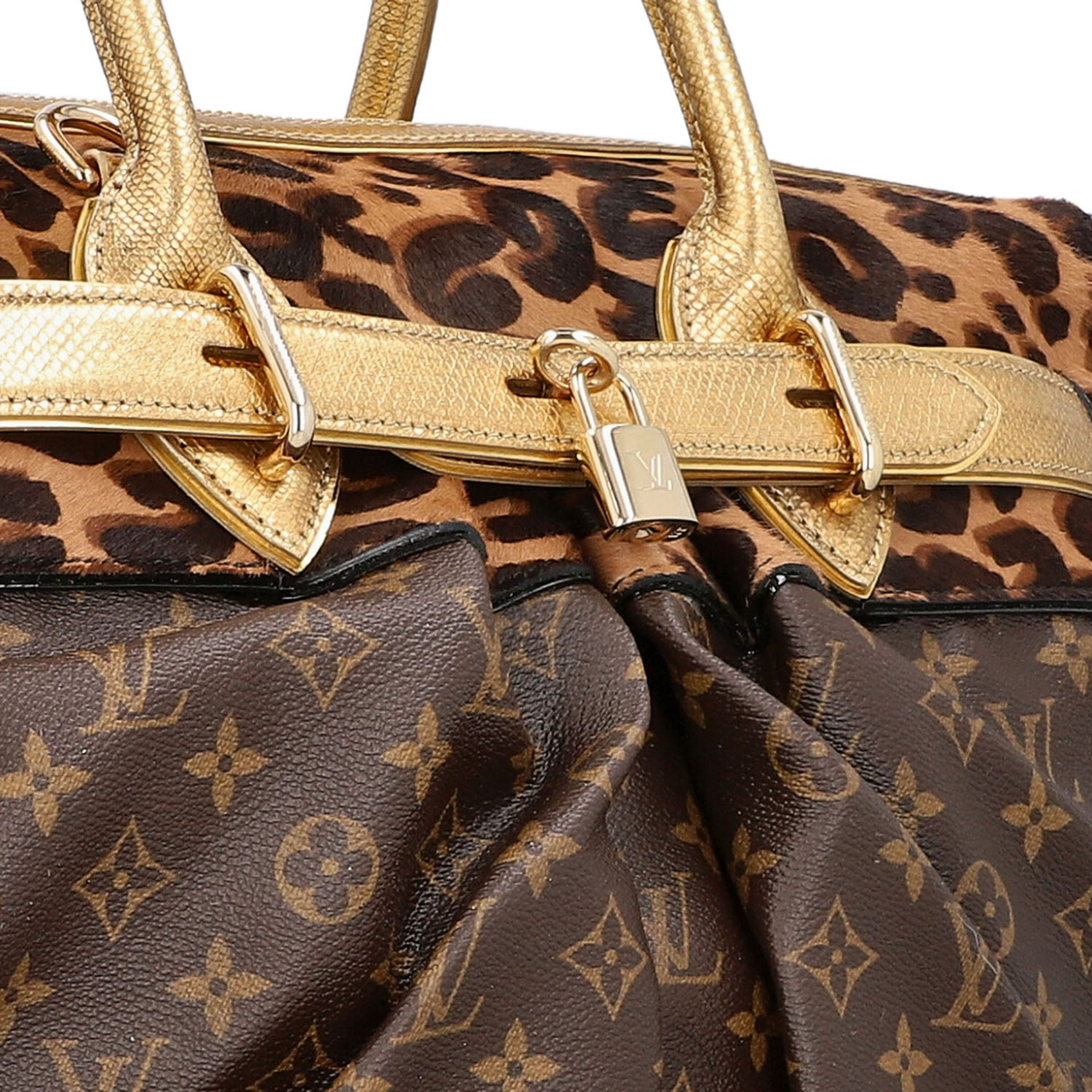 """LOUIS VUITTON Shopper """"STEAMER"""", Koll.: 2006, NP.: ca. 6.000,-€. LIMITED EDITION BY - Image 10 of 10"""