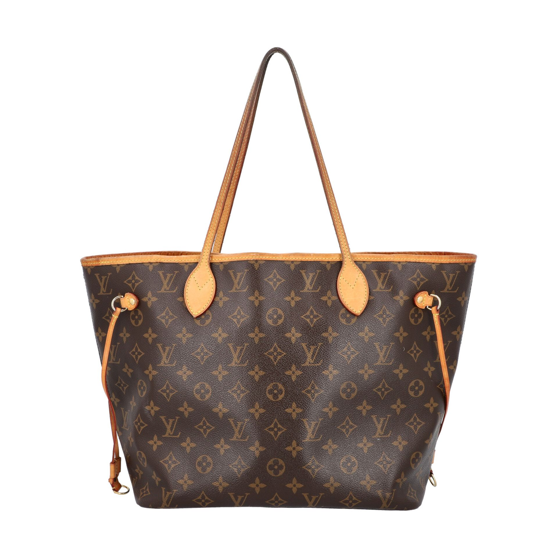 "LOUIS VUITTON Shoppertasche ""NEVERFULL MM"", Koll. 2014. Akt. NP.: 1150,-€. Monogram"