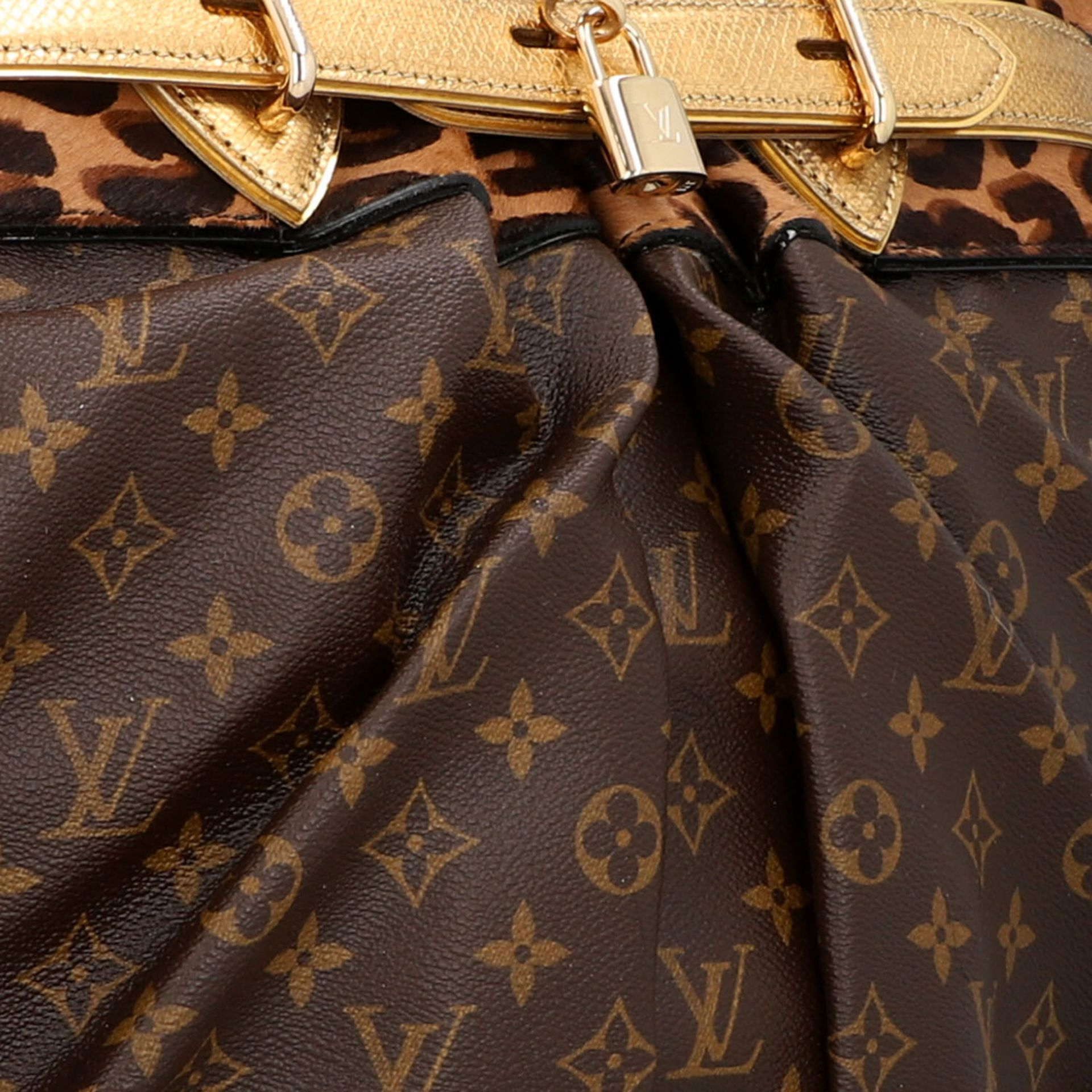 """LOUIS VUITTON Shopper """"STEAMER"""", Koll.: 2006, NP.: ca. 6.000,-€. LIMITED EDITION BY - Image 9 of 10"""