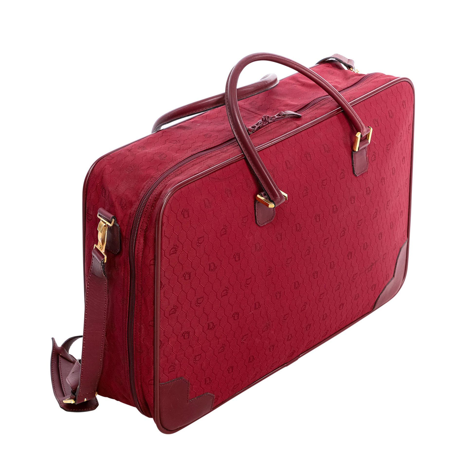 CHRISTIAN DIOR VINTAGE Koffer. - Bild 2 aus 6