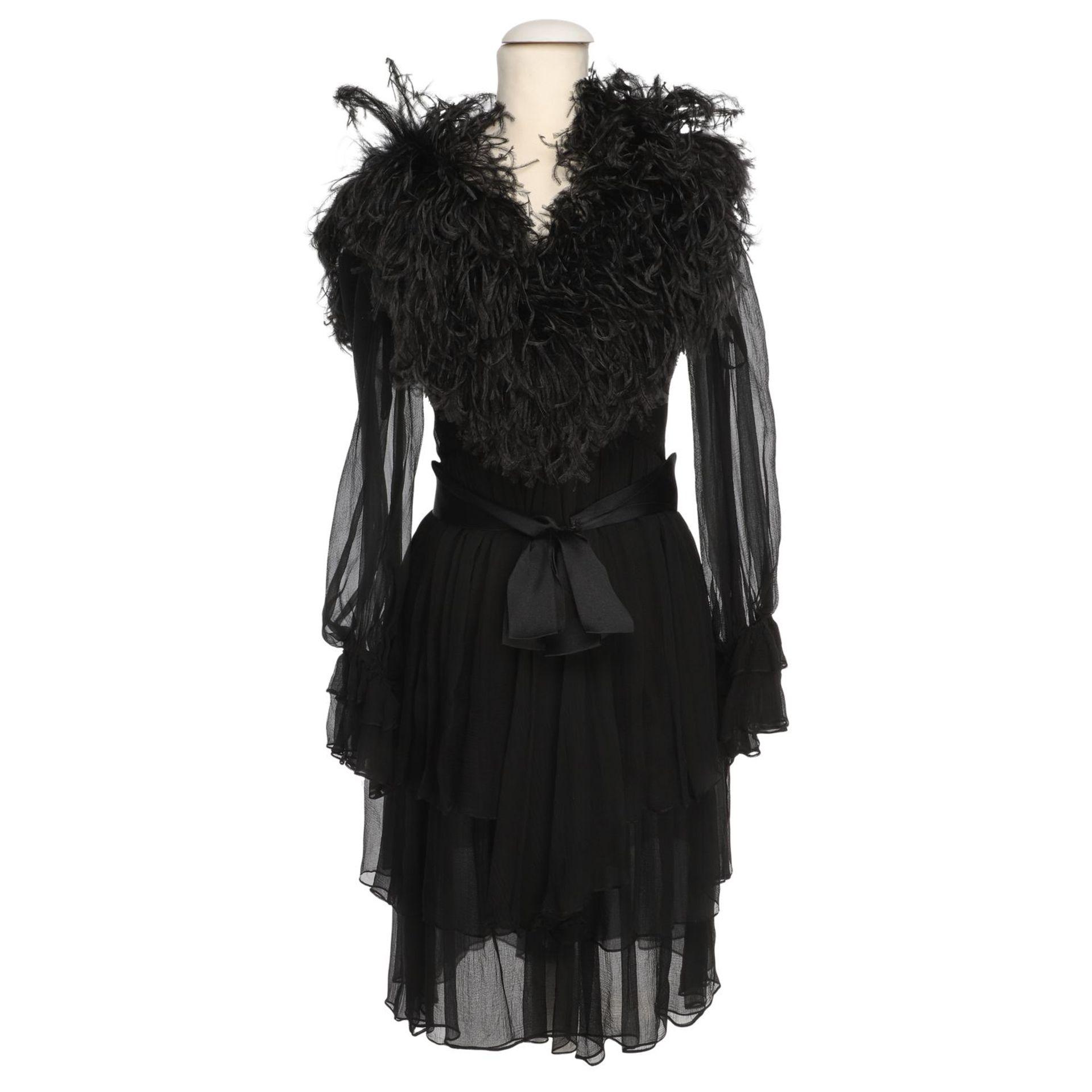 YVES SAINT LAURENT VINTAGE Kleid, Herstellergröße 36.