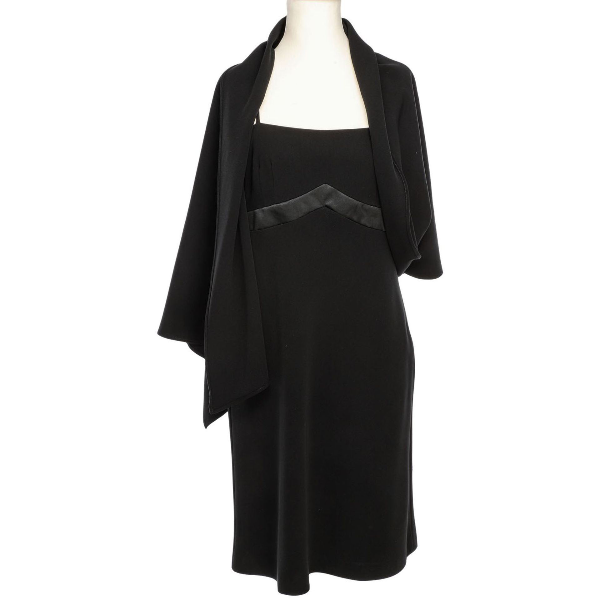 MOSCHINO COUTURE VINTAGE Kleid, Gr. 40.