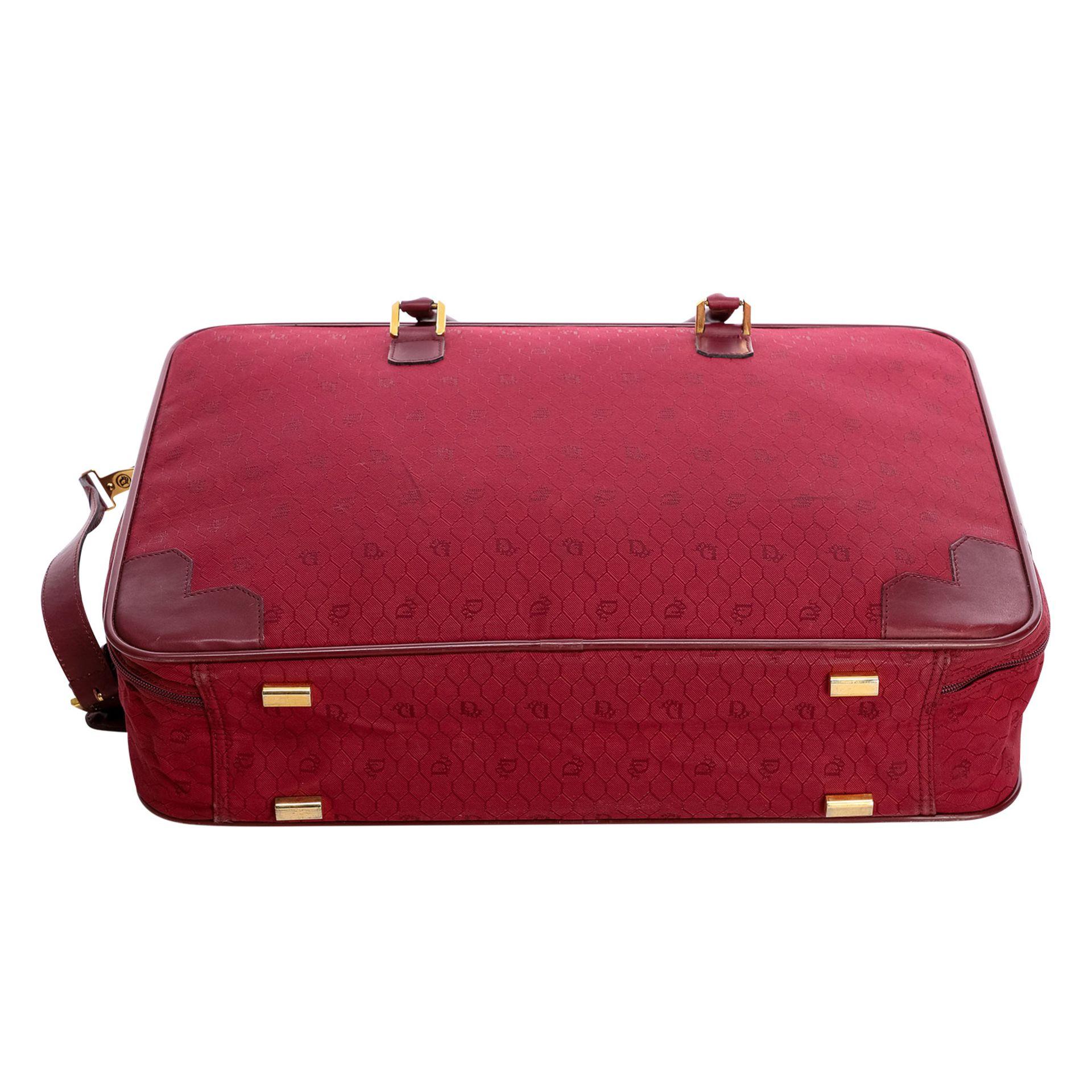 CHRISTIAN DIOR VINTAGE Koffer. - Bild 5 aus 6