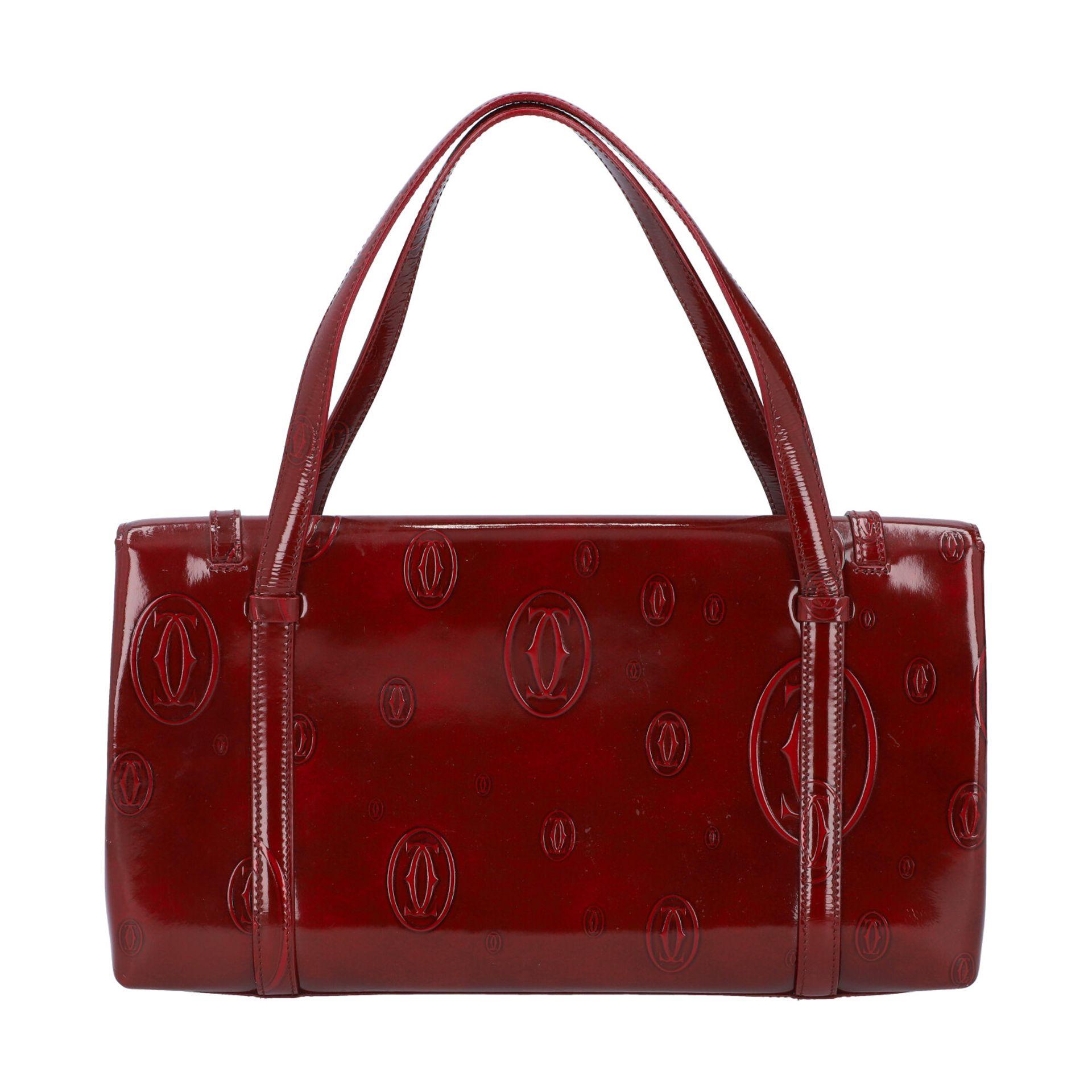 "CARTIER VINTAGE Handtasche ""HAPPY BIRTHDAY"". - Image 4 of 8"