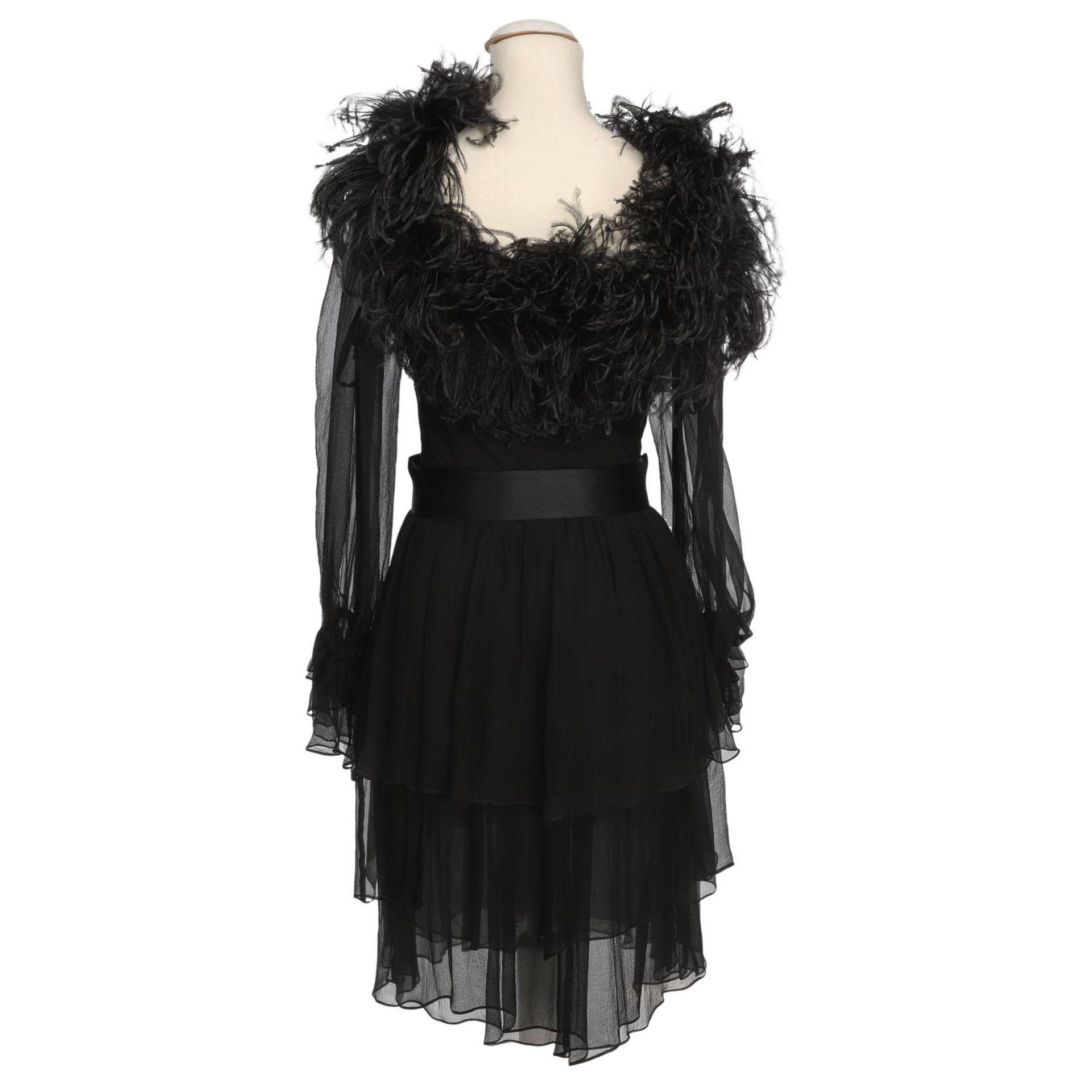 YVES SAINT LAURENT VINTAGE Kleid, Herstellergröße 36. - Image 4 of 4