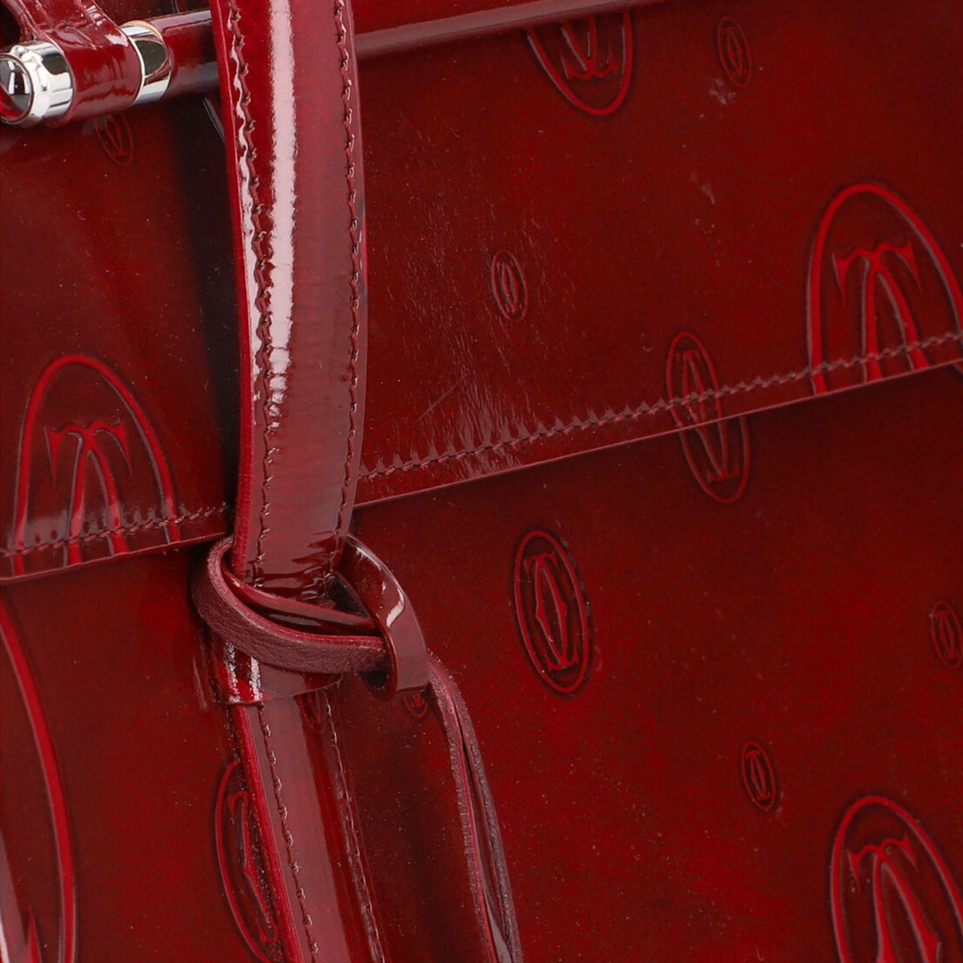 "CARTIER VINTAGE Handtasche ""HAPPY BIRTHDAY"". - Image 8 of 8"
