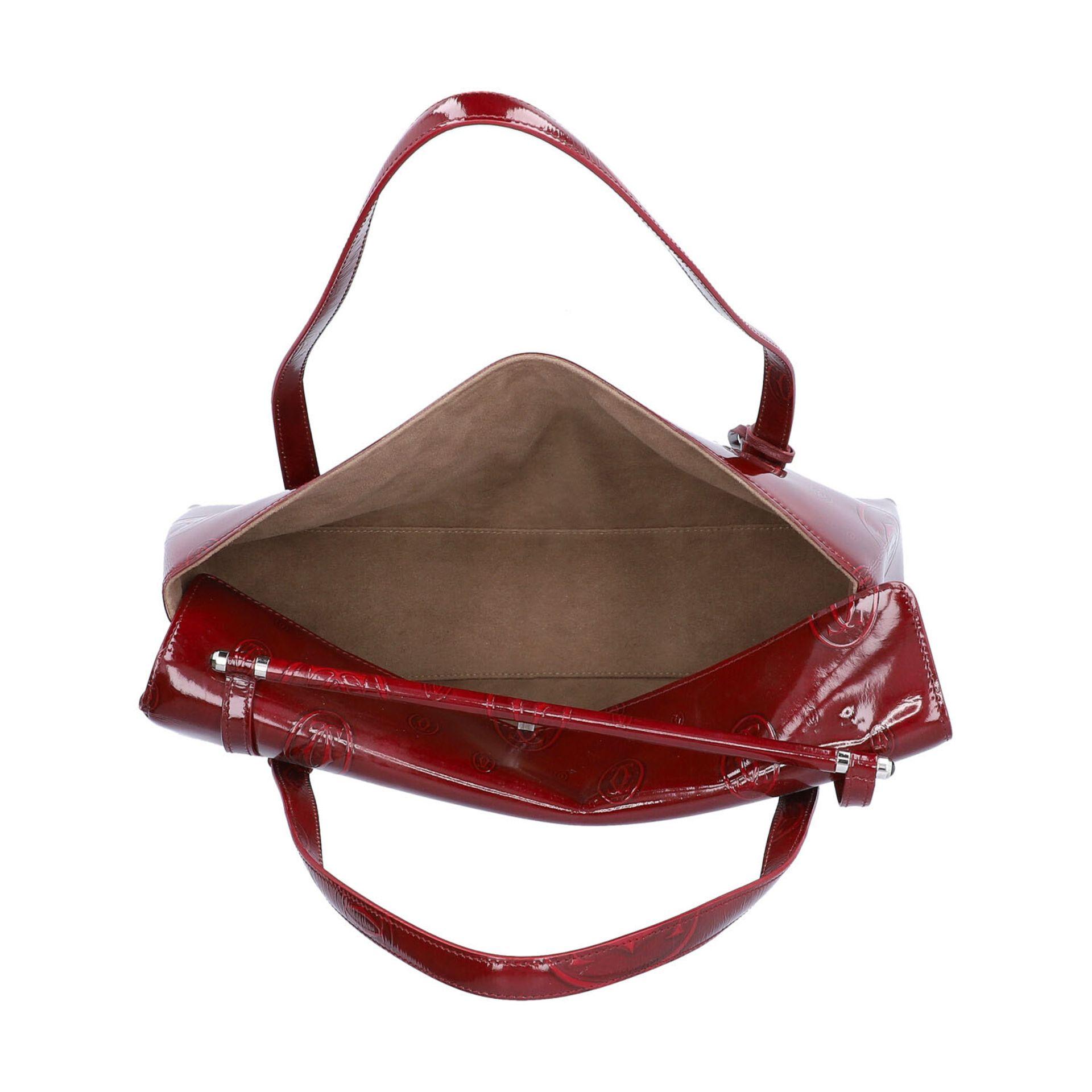 "CARTIER VINTAGE Handtasche ""HAPPY BIRTHDAY"". - Image 6 of 8"