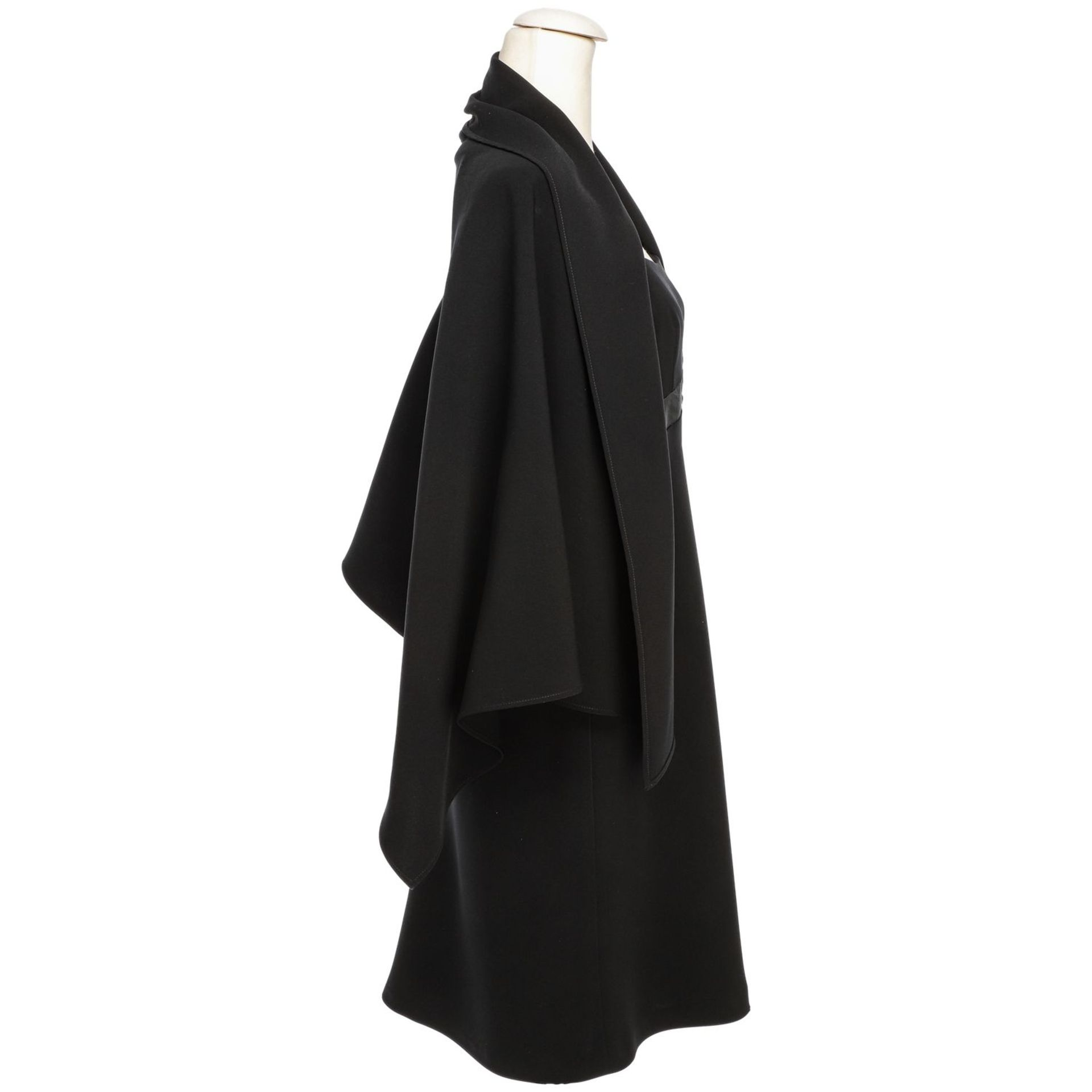 MOSCHINO COUTURE VINTAGE Kleid, Gr. 40. - Image 3 of 4