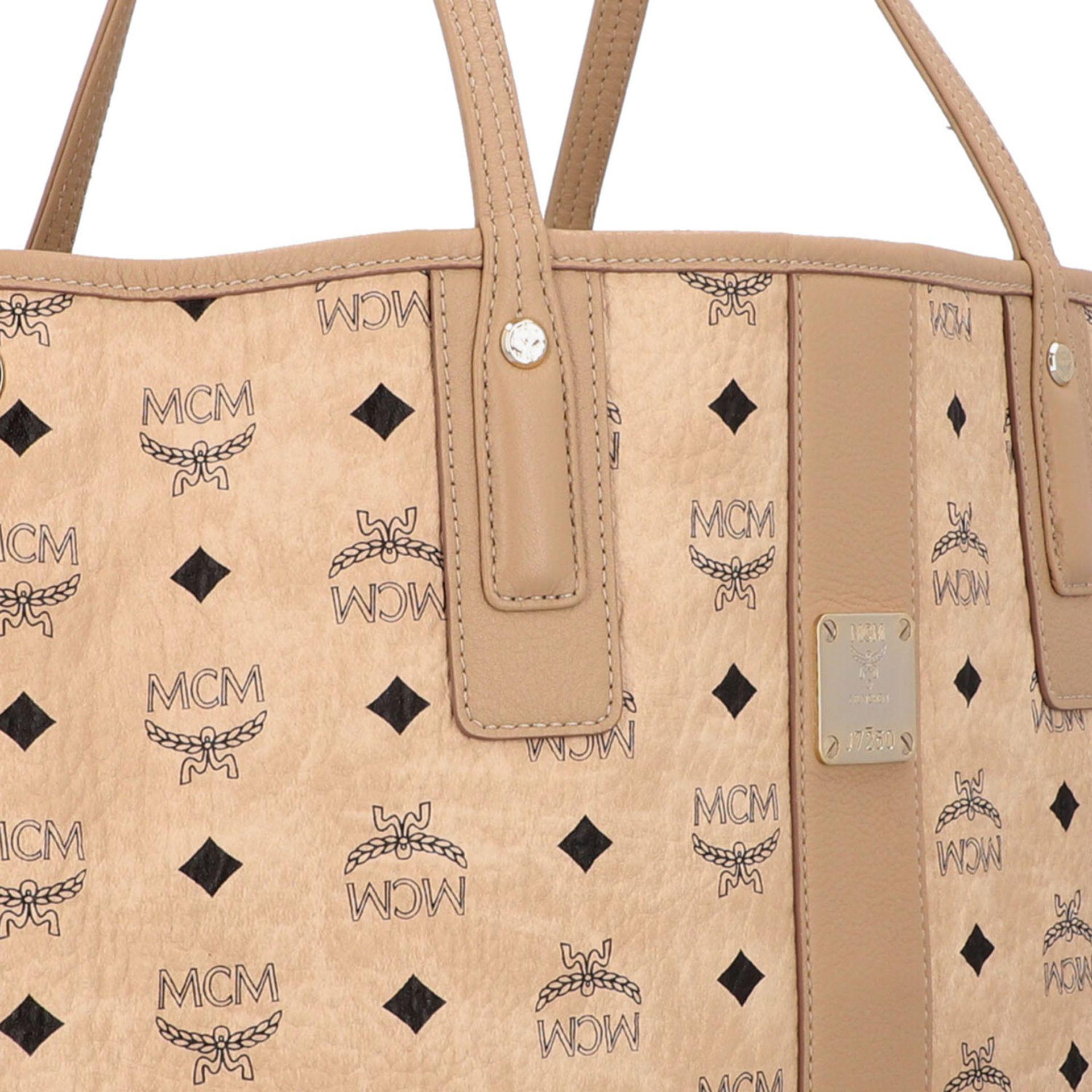 "MCM Shopper ""LIZ MEDIUM"", akt. NP.: 625,-€. - Image 8 of 8"