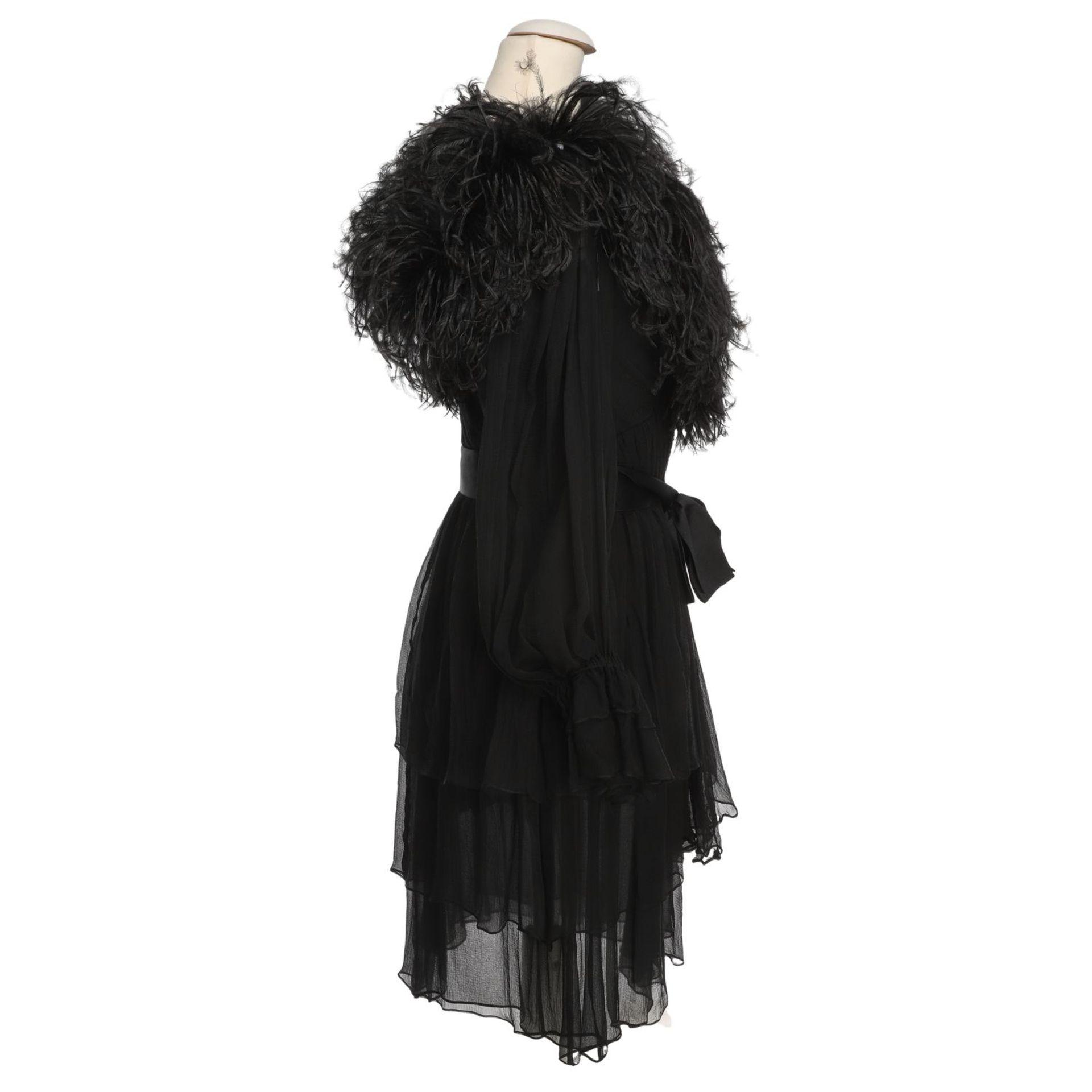 YVES SAINT LAURENT VINTAGE Kleid, Herstellergröße 36. - Image 3 of 4
