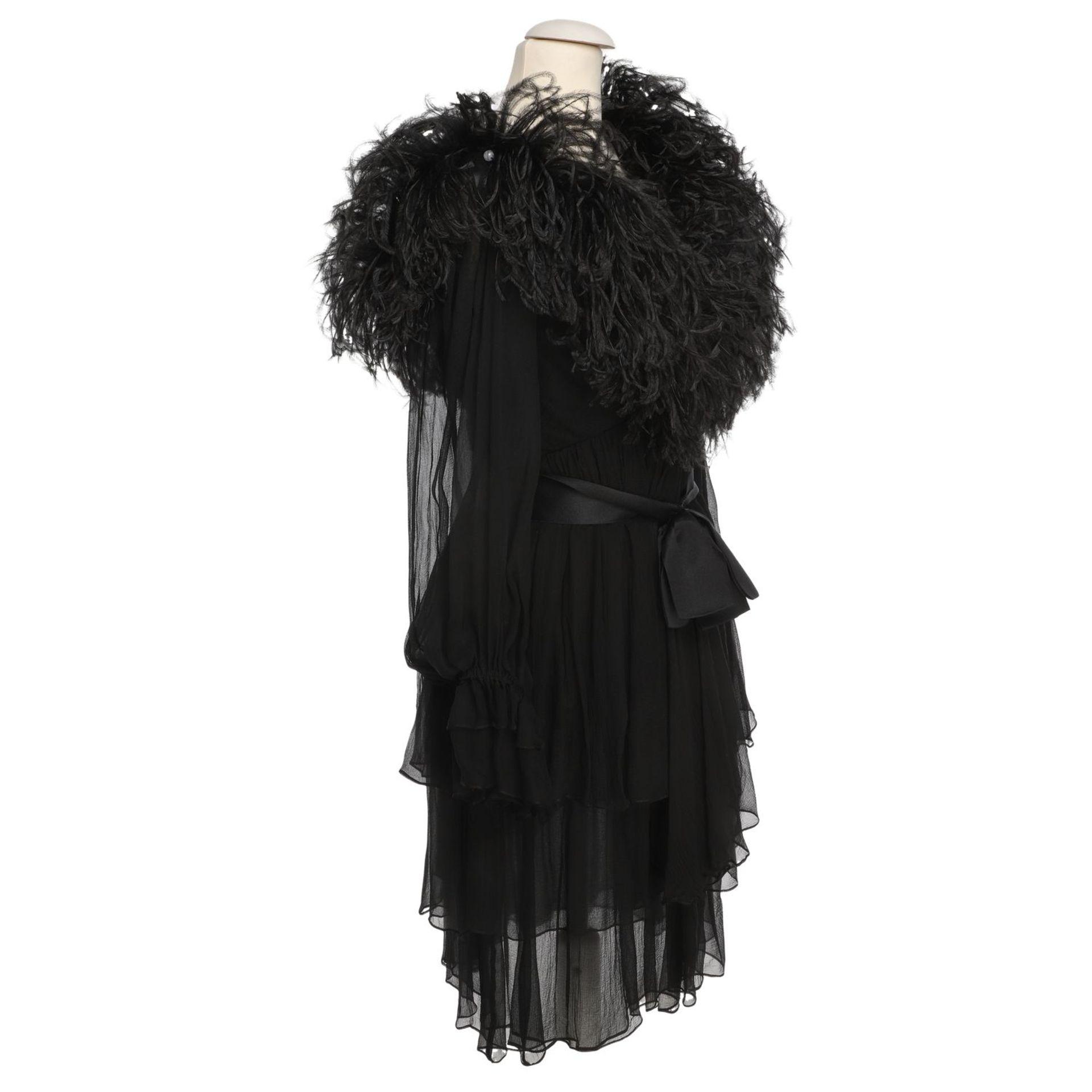 YVES SAINT LAURENT VINTAGE Kleid, Herstellergröße 36. - Image 2 of 4