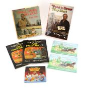 A collection of books by Tony Hart, or featuring artwork by Tony Hart. All unsigned. Including '