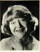 A signed photograph of Dora Bryan (Dora May Broadbent, OBE, 1923-2014). English actress of stage