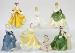 Royal Doulton ladies, to include Secret Thoughts HN2382, Soiree HN2312, Fragrance HN2334,