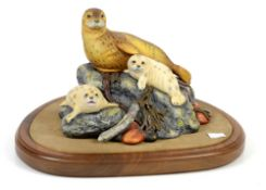 Royal Doulton 'Harbour Seals' HN3507, no box